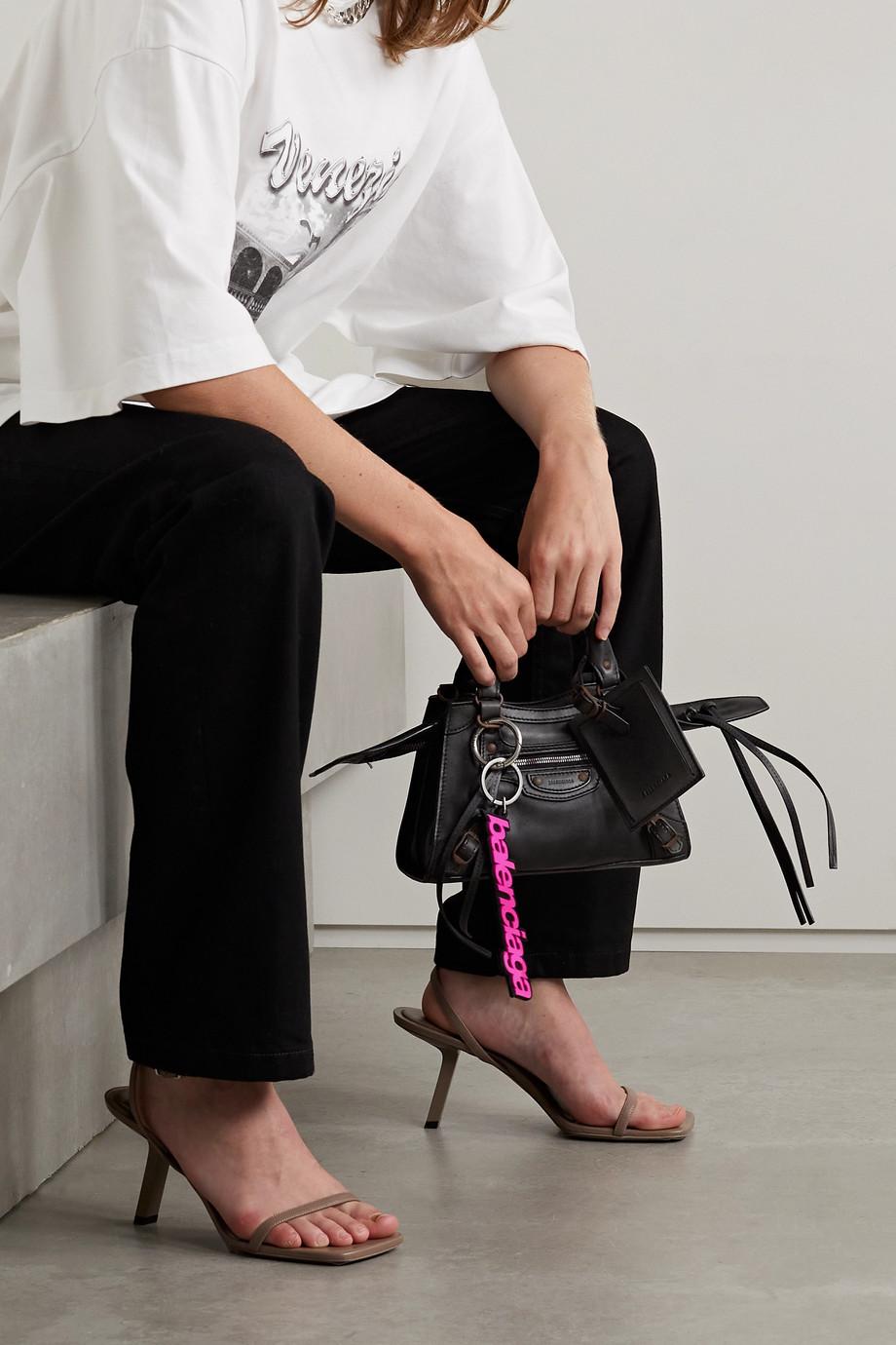 Balenciaga Sac à main en cuir Neo Classic City Mini