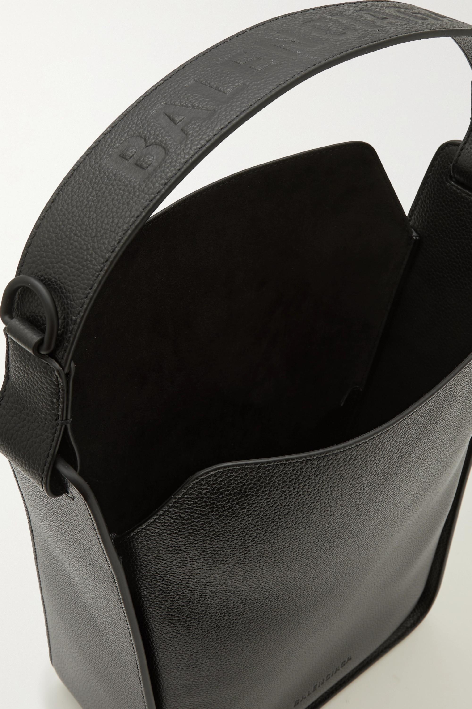 Balenciaga Sac à main en cuir texturé Tool Small
