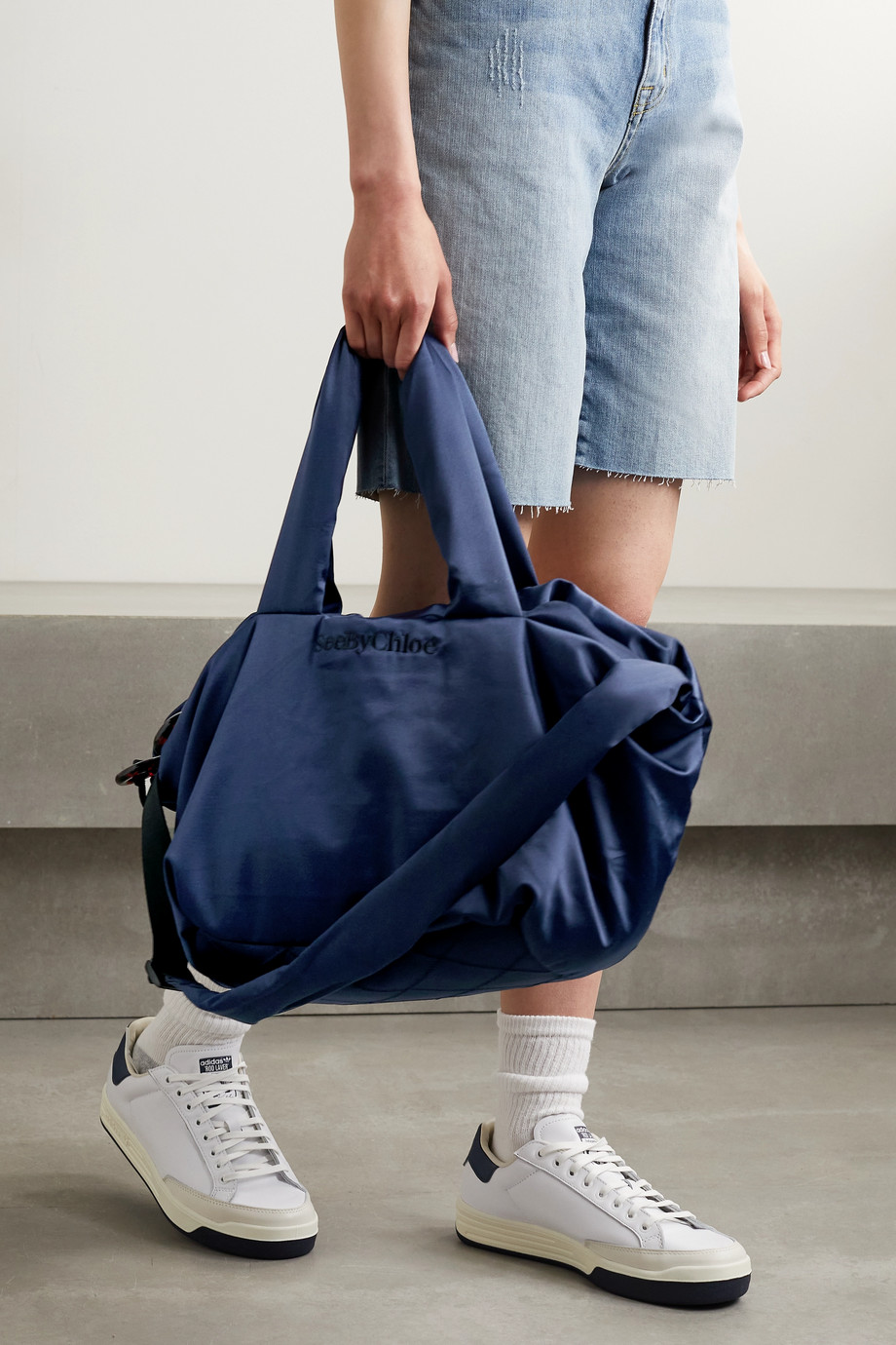 See By Chloé Satin weekend bag