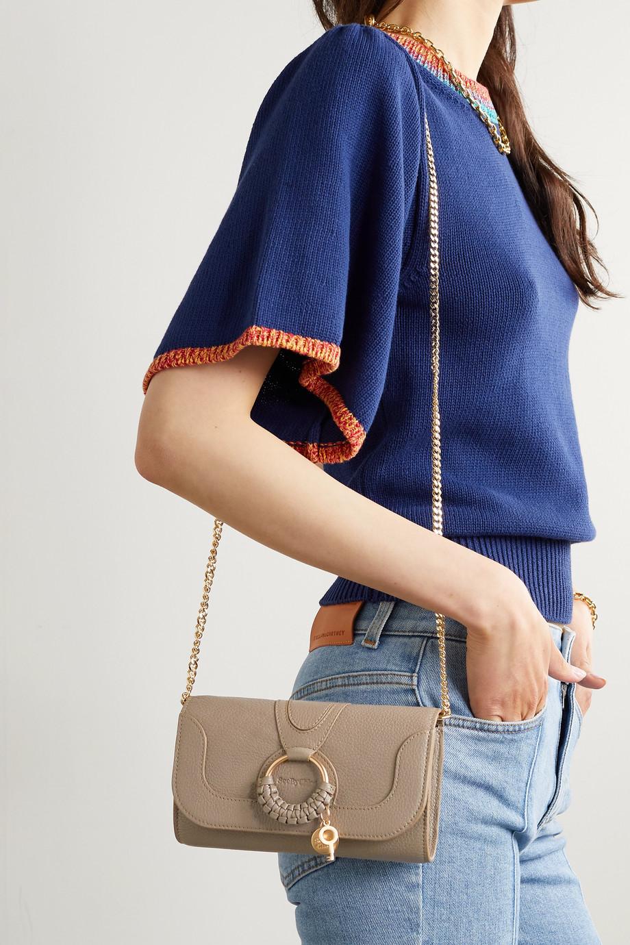 See By Chloé Sac porté épaule en cuir texturé Hana