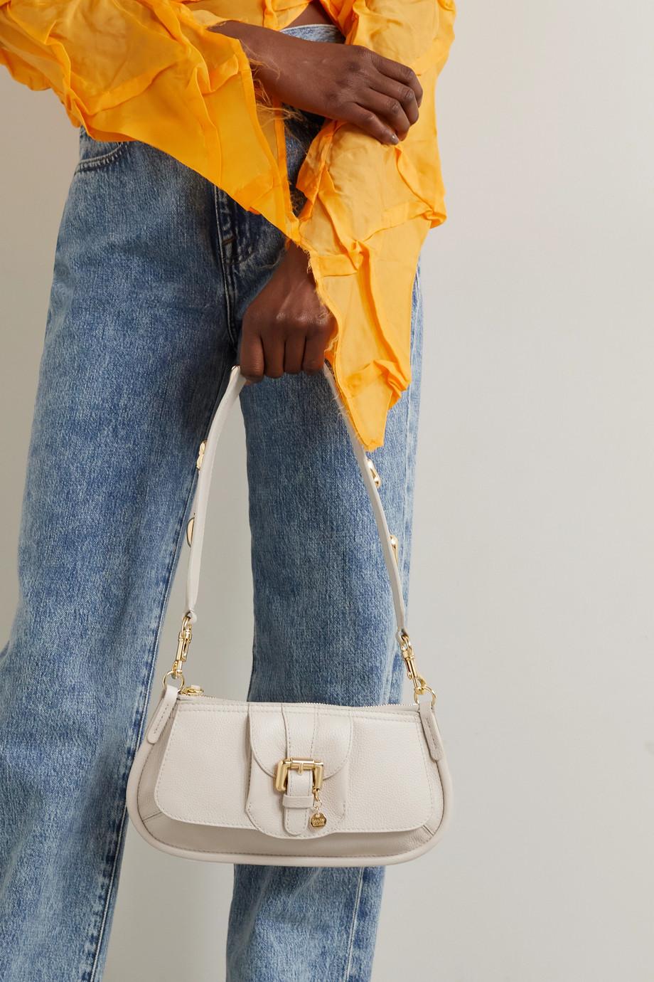 See By Chloé Lesly kleine Schultertasche aus strukturiertem Leder mit Verzierung