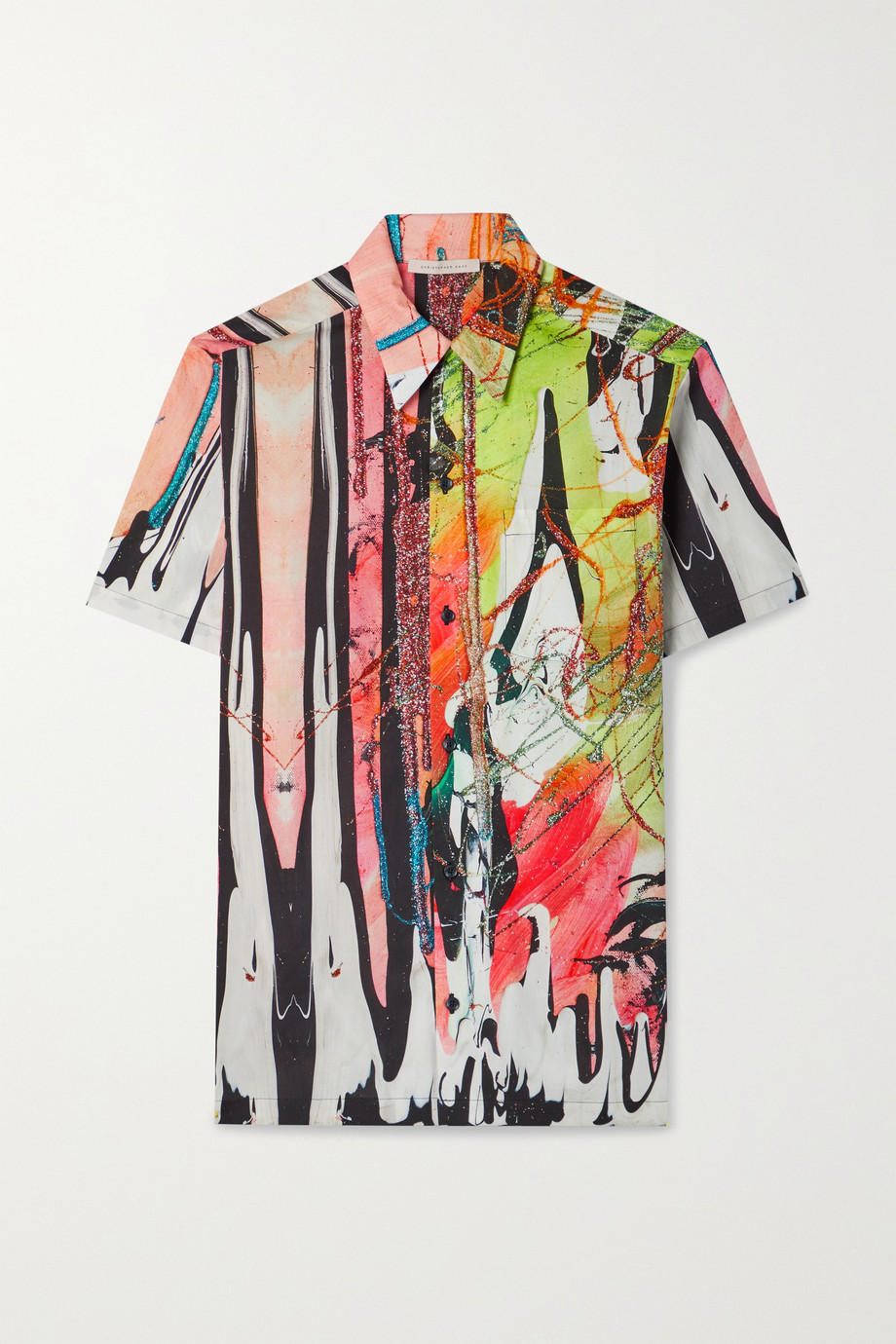 Christopher Kane Mindscape printed cotton shirt