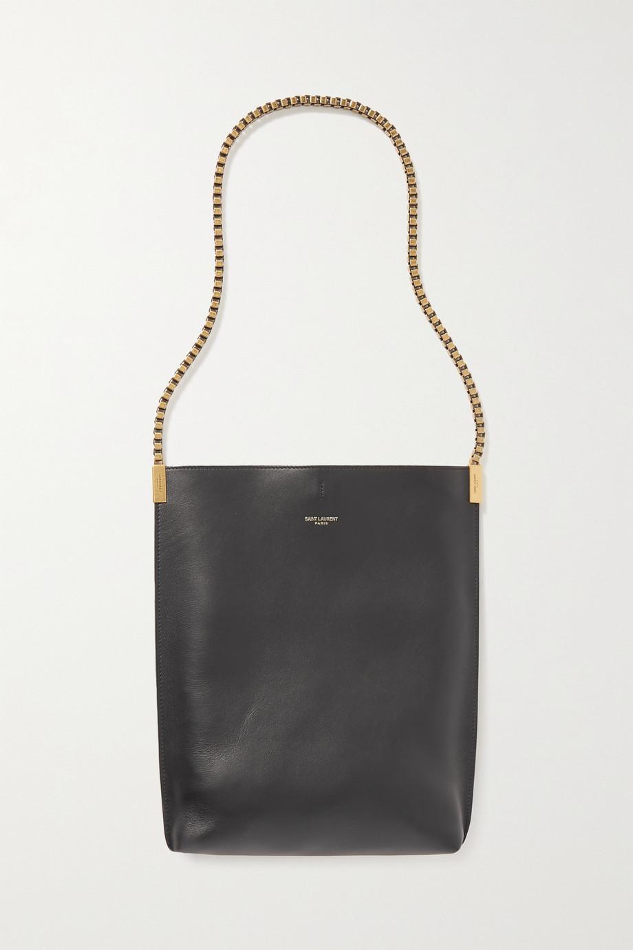 SAINT LAURENT Suzanne small leather shoulder bag