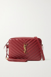 SAINT LAURENT Lou quilted leather shoulder bag