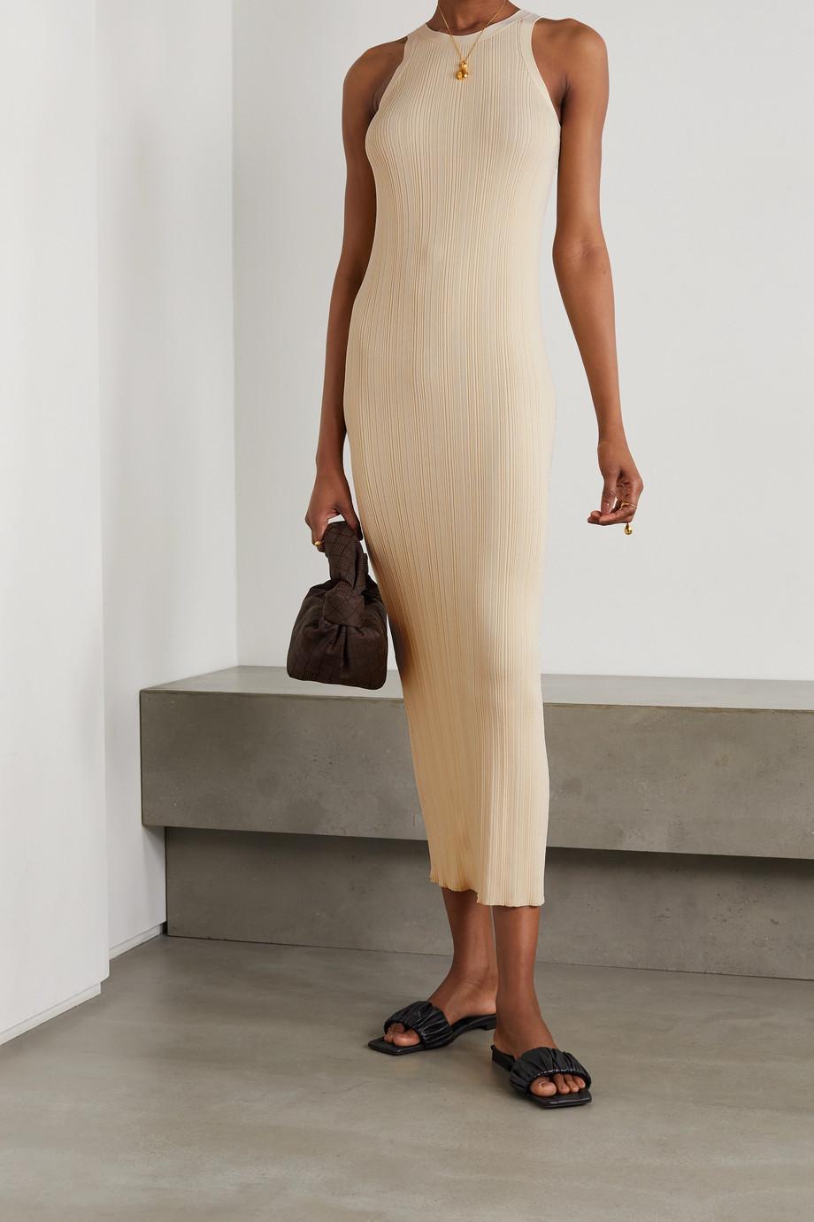Totême Espera ribbed-knit dress