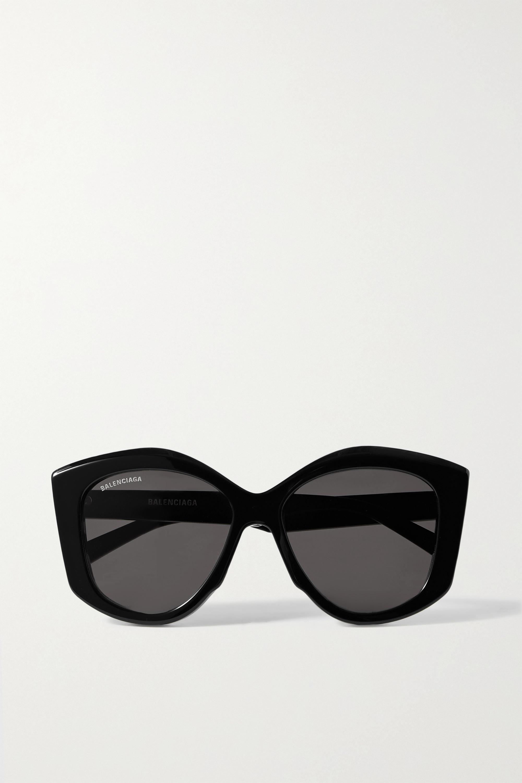 Balenciaga Oversized cat-eye acetate sunglasses