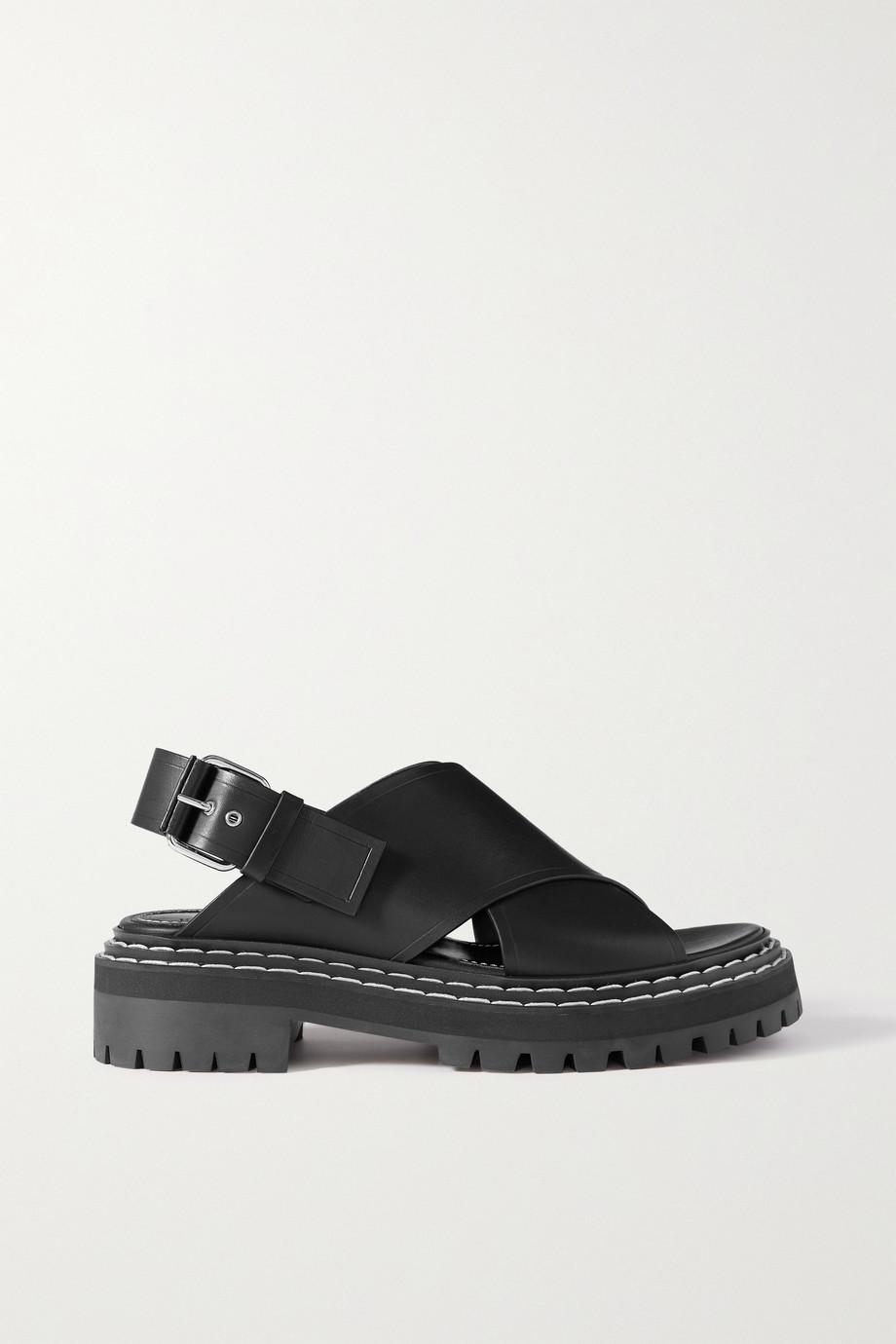 Proenza Schouler Slingback-Sandalen aus Leder