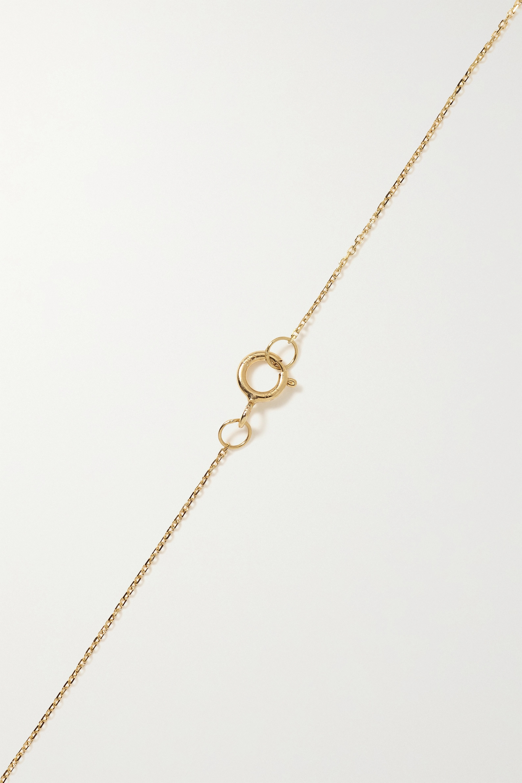 Wwake Kette aus Gold mit Perle
