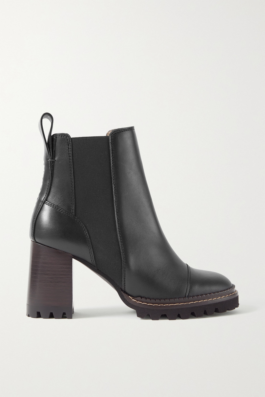 See By Chloé Mallory Chelsea Boots aus Leder