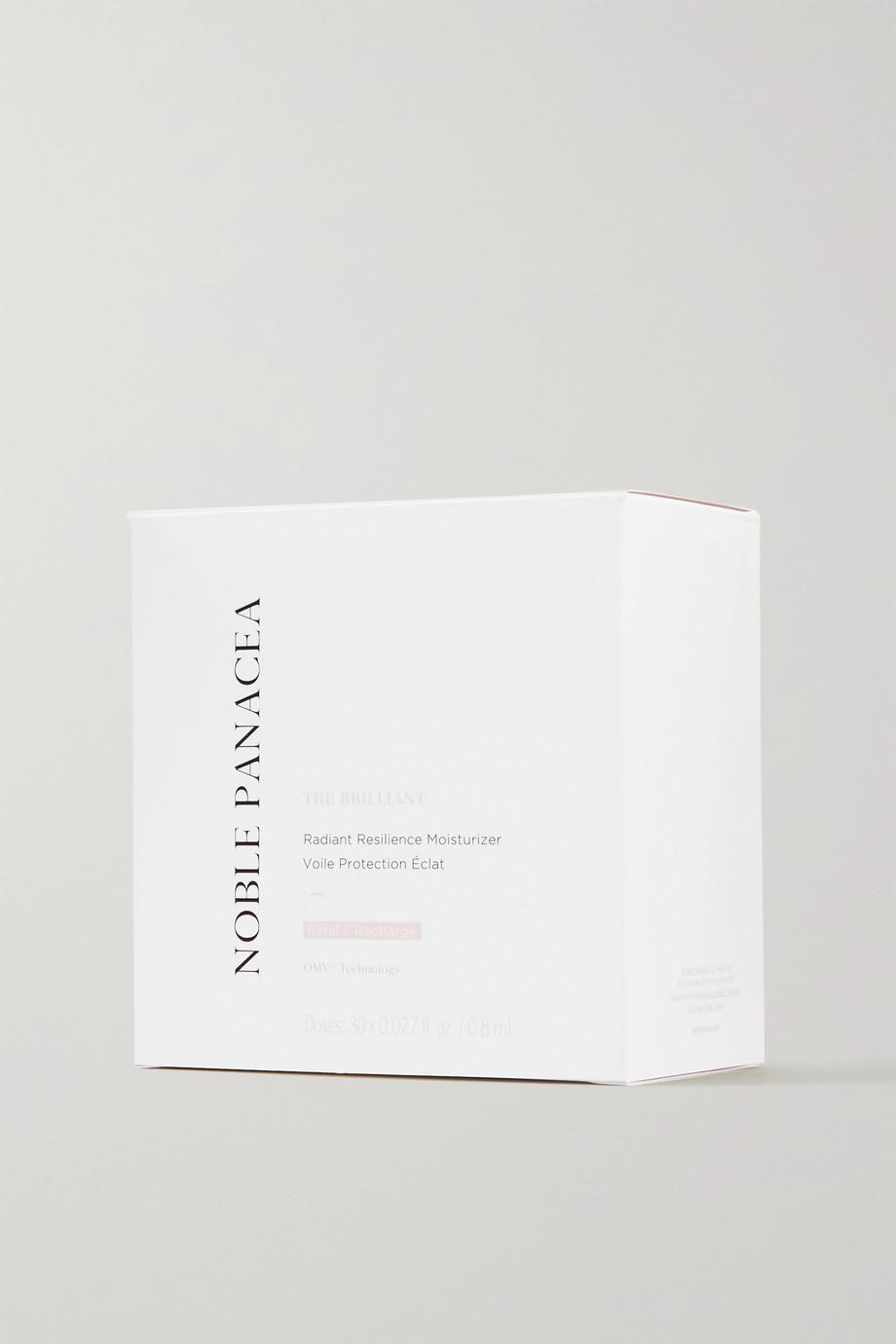 Noble Panacea The Brilliant Radiant Resilience Moisturizer Refill, 30 x 0.8ml