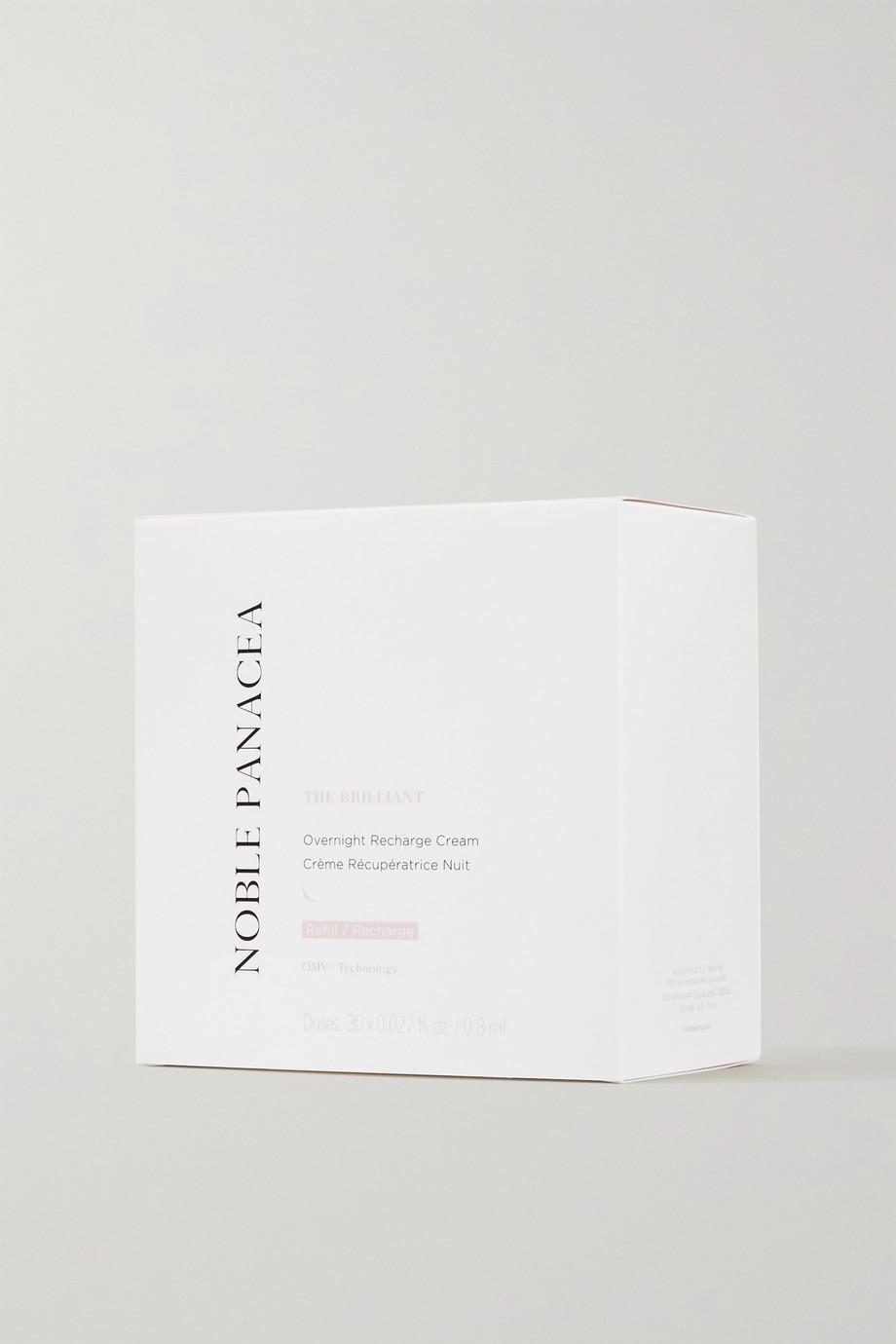 Noble Panacea The Brilliant Overnight Recharge Cream Refill, 30 x 0,8 ml – Nachfüll-Nachtcreme