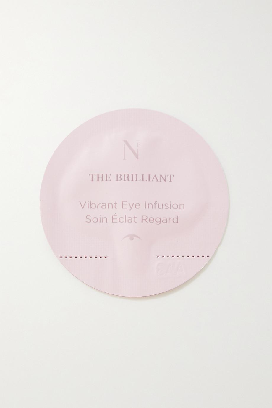 Noble Panacea The Brilliant Vibrant Eye Infusion Refill, 30 x 0,3 ml – Nachfüll-Augenserum