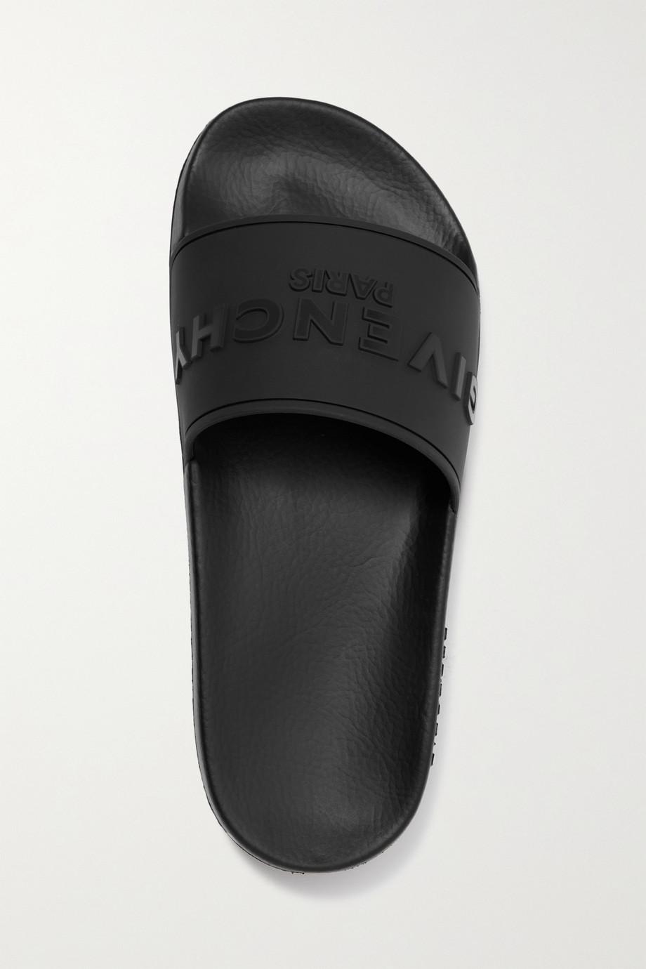 Givenchy Claquettes en caoutchouc à logo