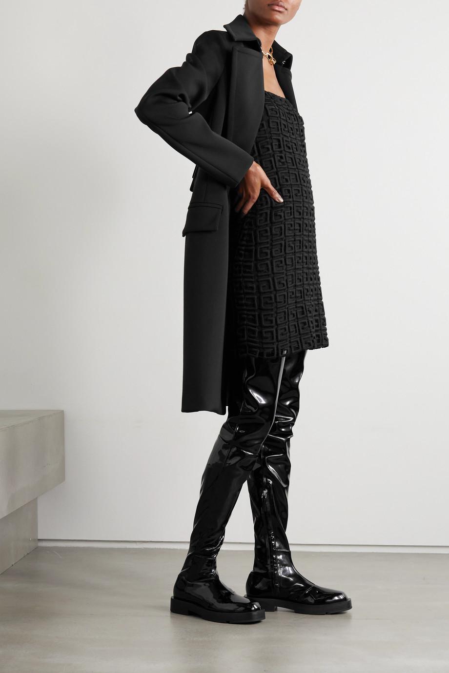 Givenchy Cuissardes en cuir verni