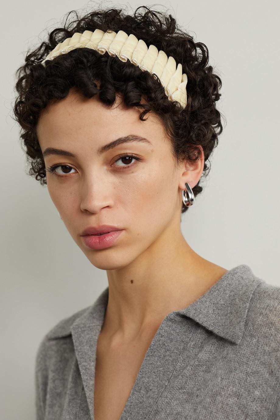 Eugenia Kim Serre-tête en velours plissé Birdie