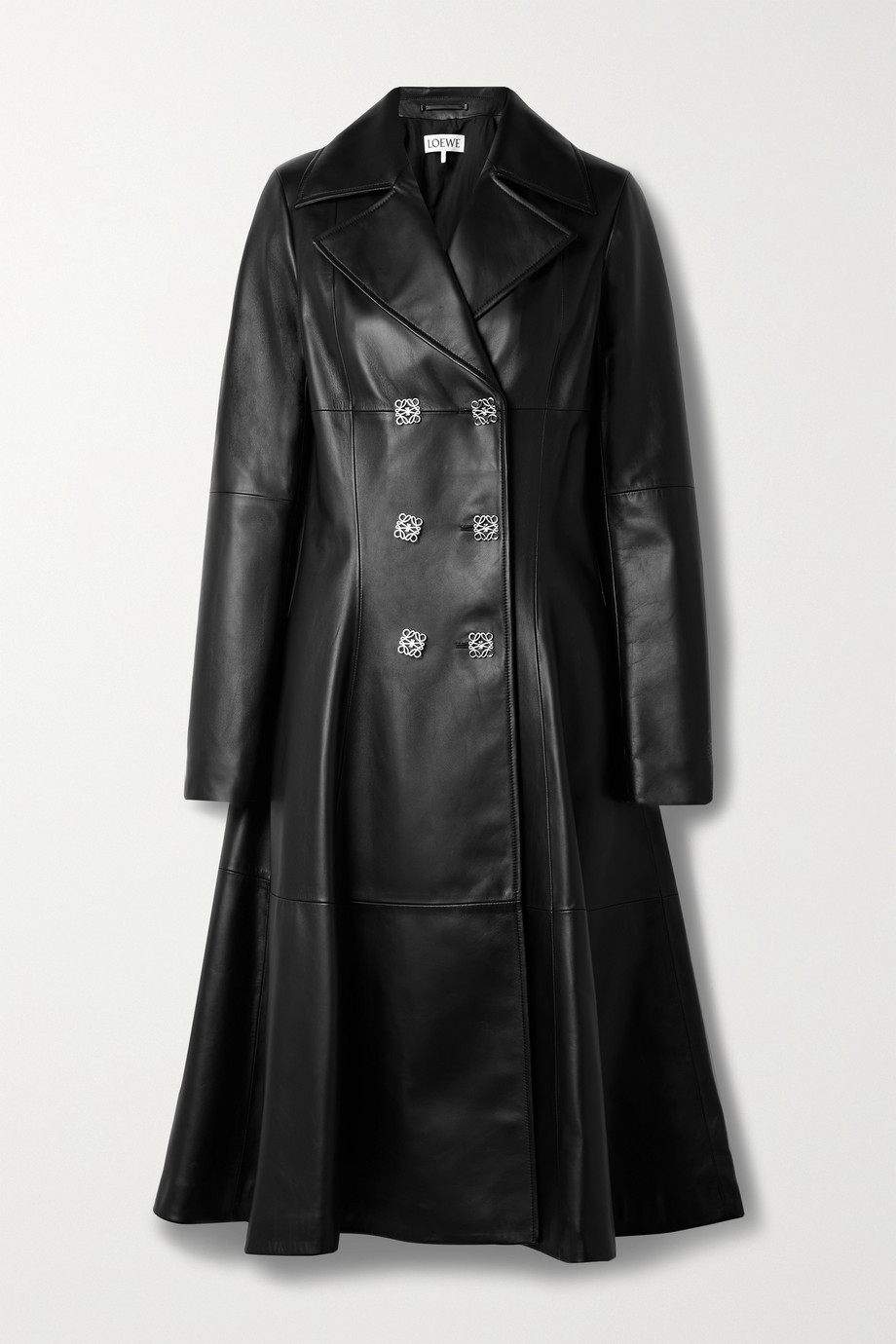 Loewe Double-breasted leather coat