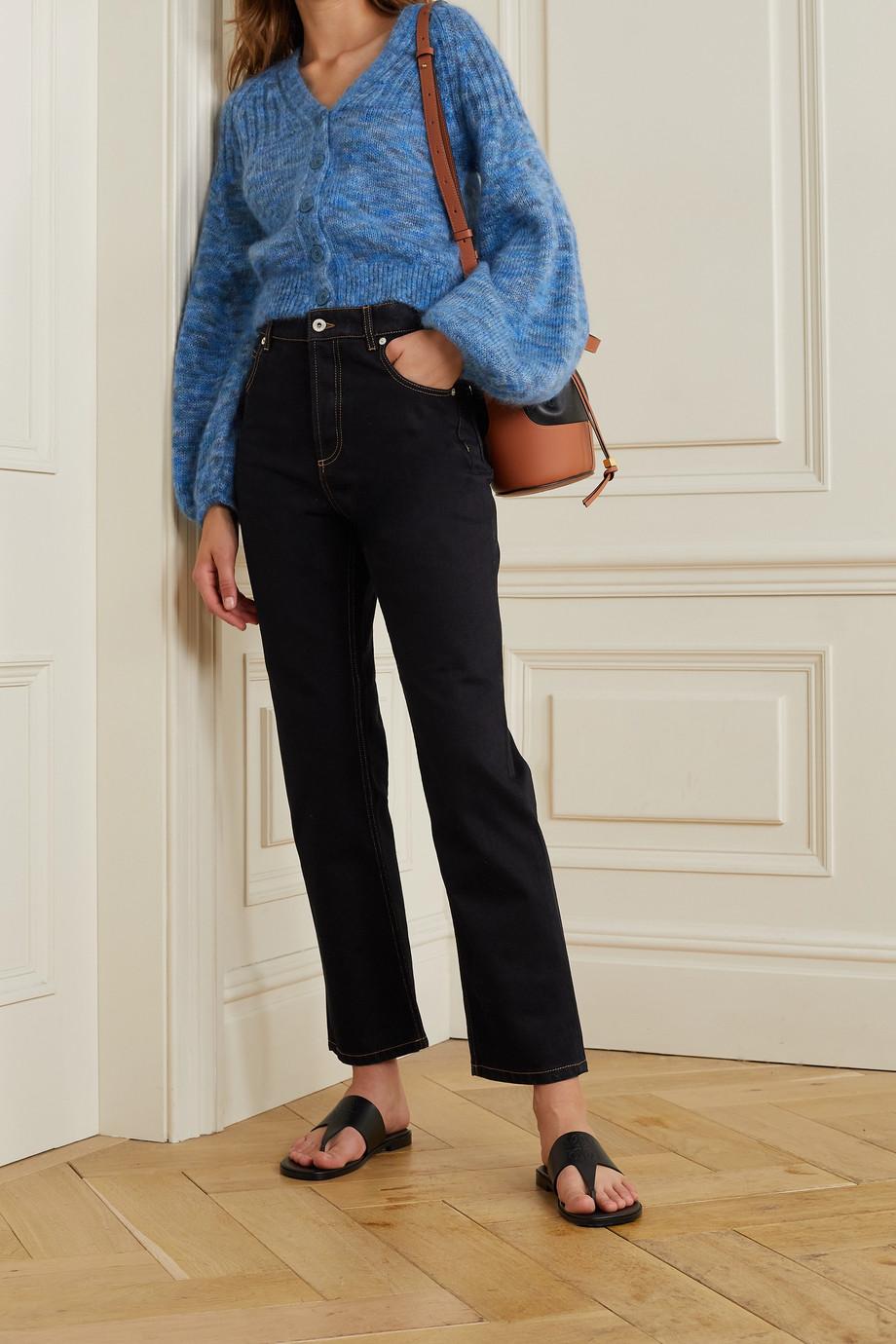 Loewe Mid-rise straight-leg jeans