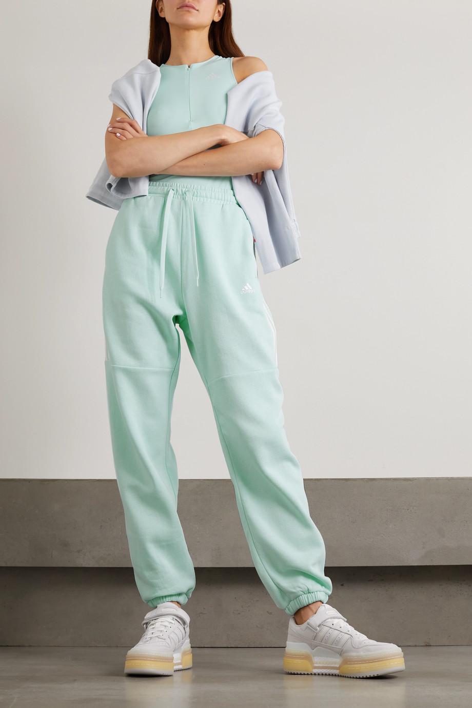 adidas Originals Jogginghose aus Jersey aus einer Baumwollmischung mit Streifen