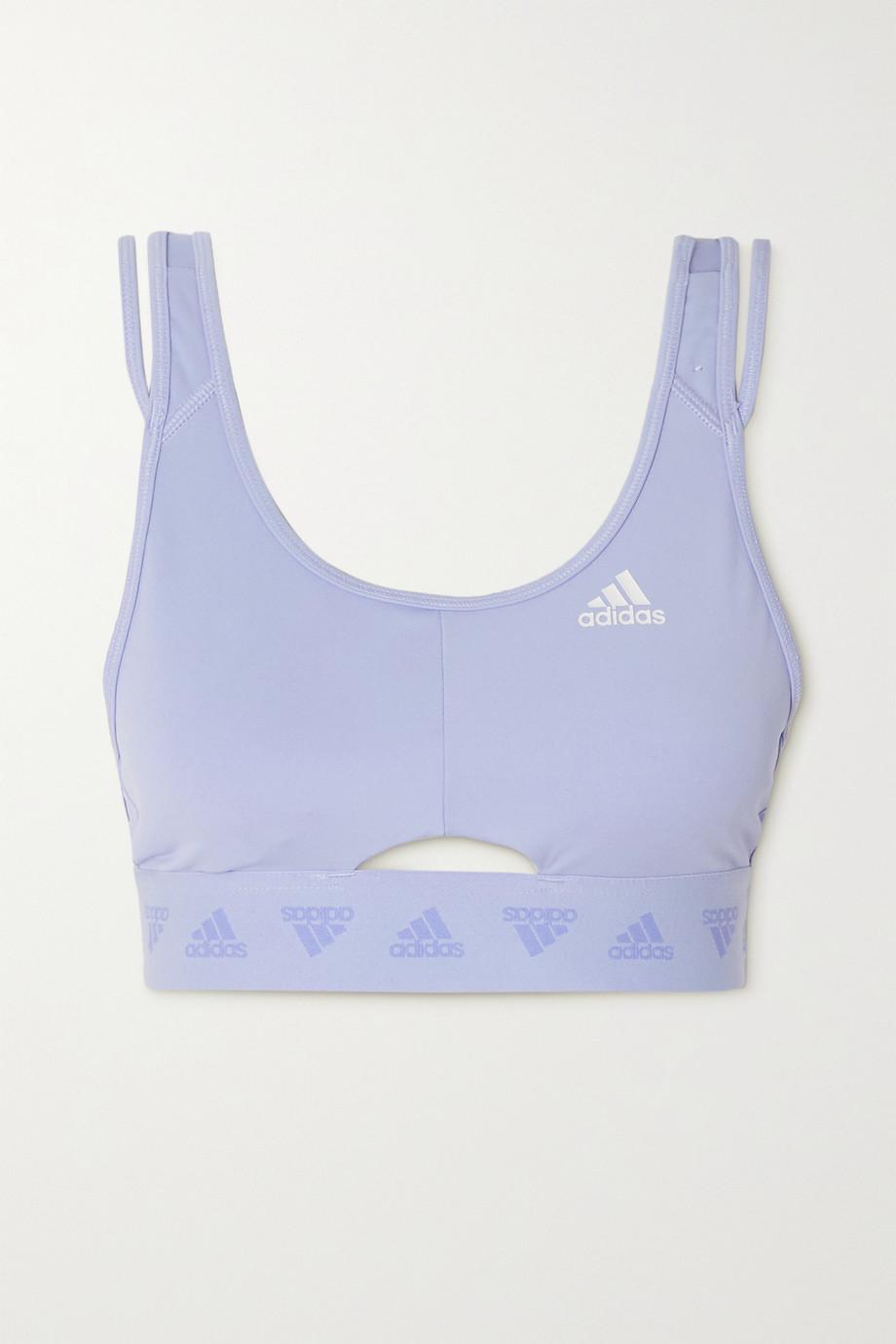 adidas Originals Hyperglam cutout stretch sports bra
