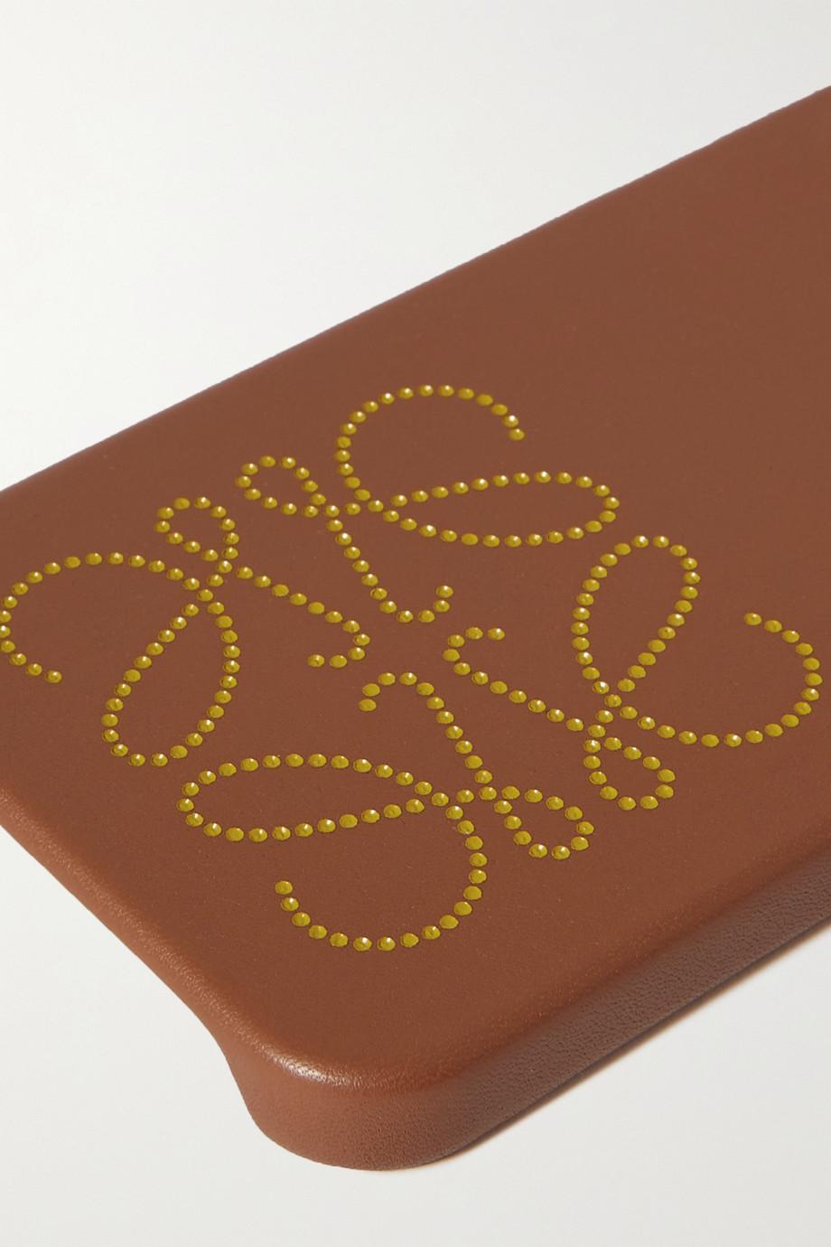 Loewe Coque pour iPhone 12 Pro Max en cuir imprimé