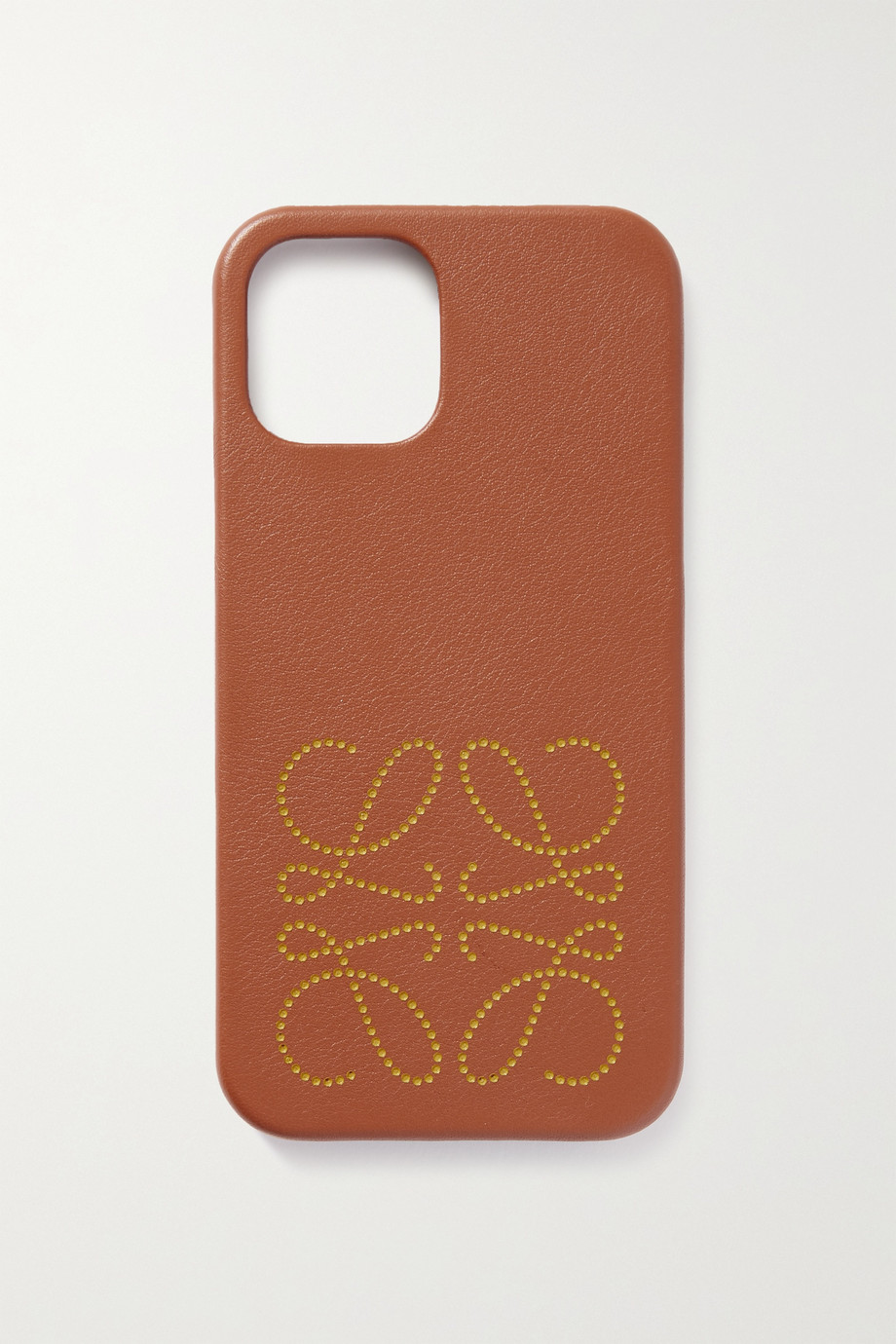 Loewe Coque pour iPhone 12 Pro en cuir imprimé