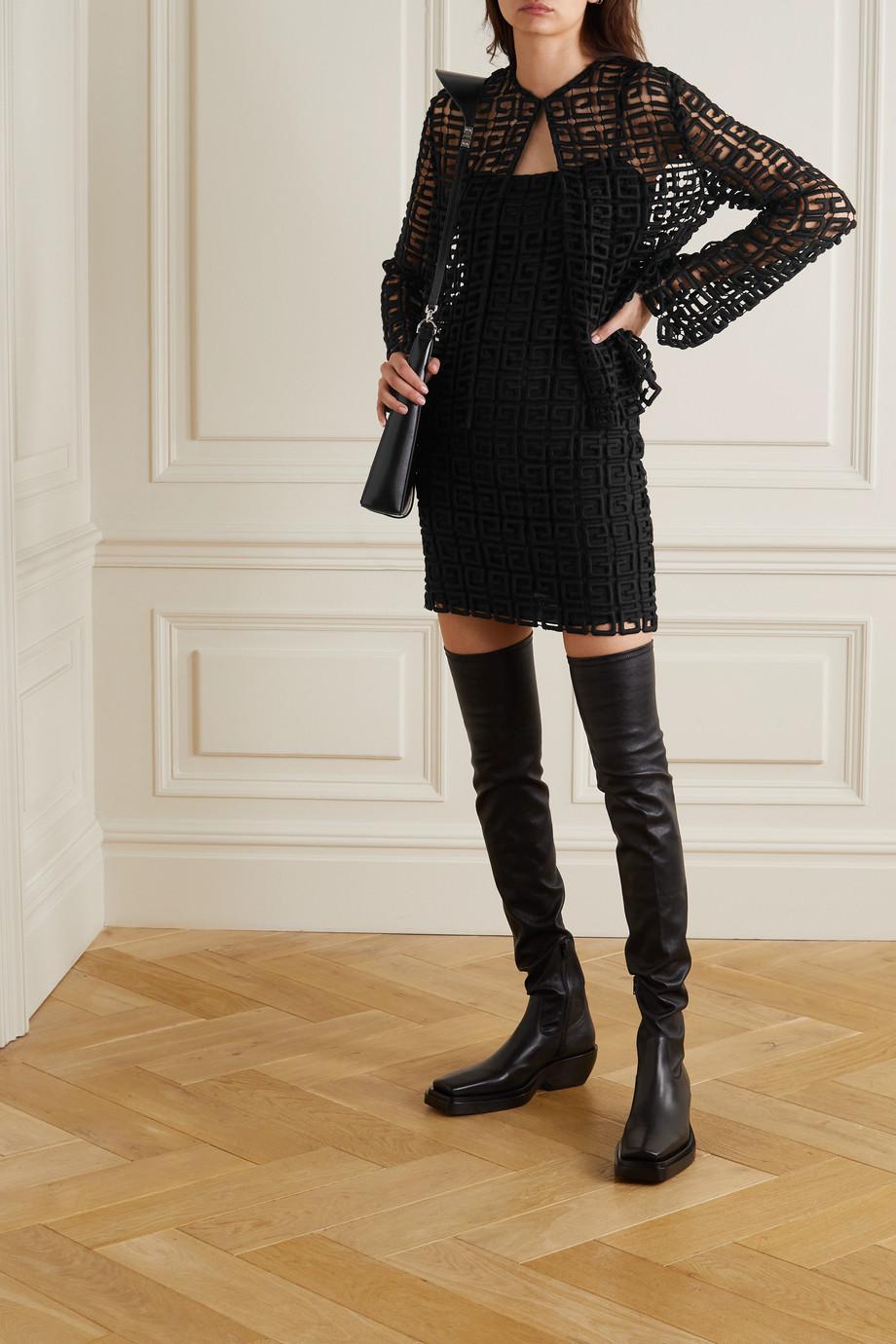 Givenchy Veste en dentelle guipure de laine mélangée