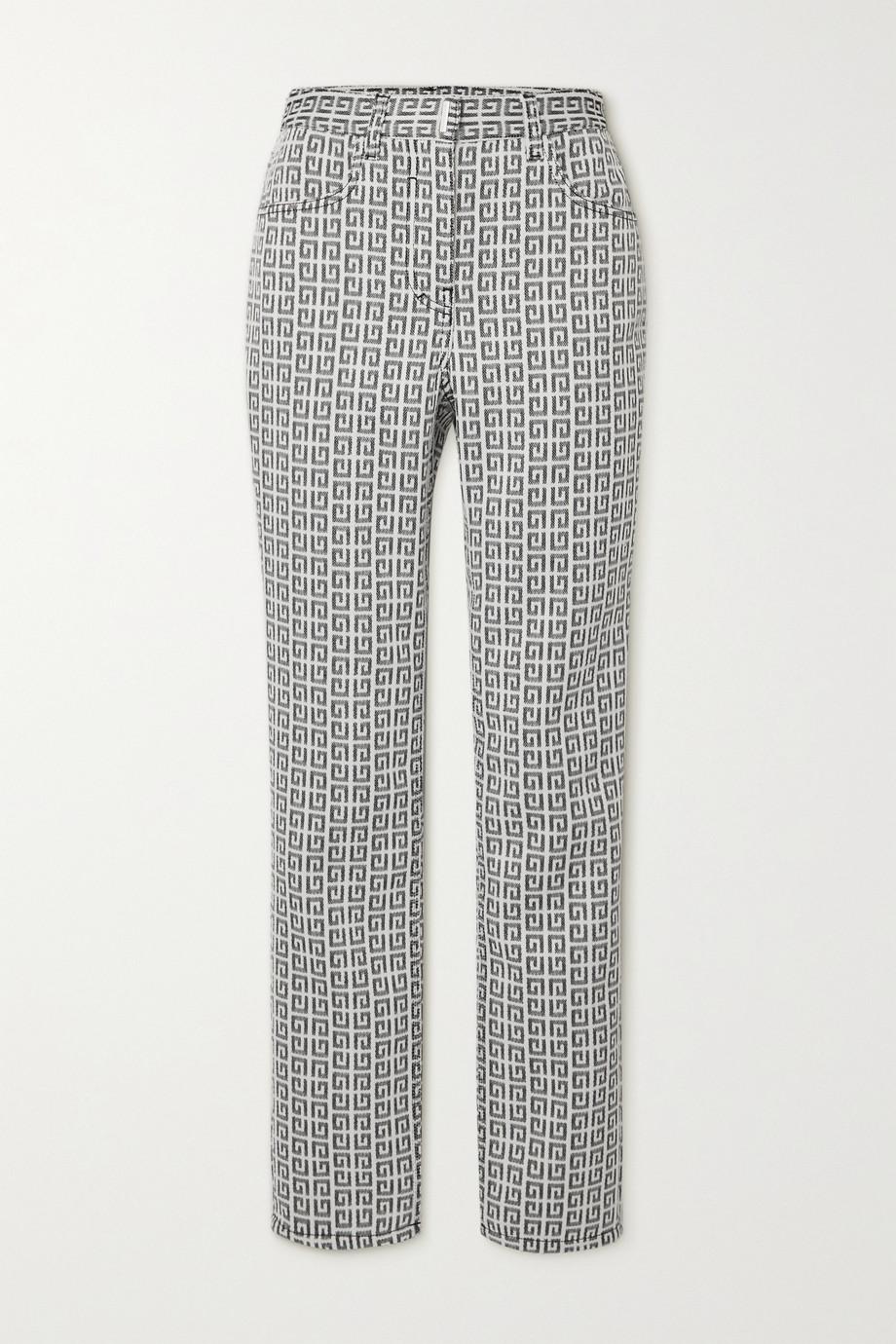 Givenchy Pantalon droit en jacquard