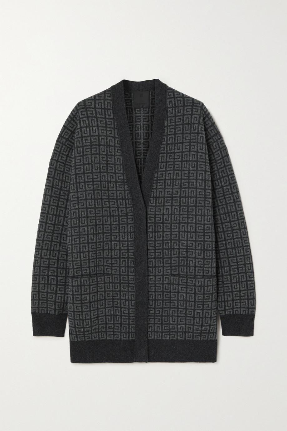 Givenchy Cardigan en cachemire intarsia