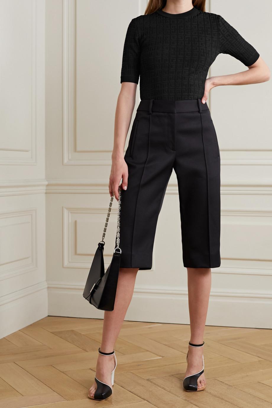 Givenchy Haut en mailles jacquard
