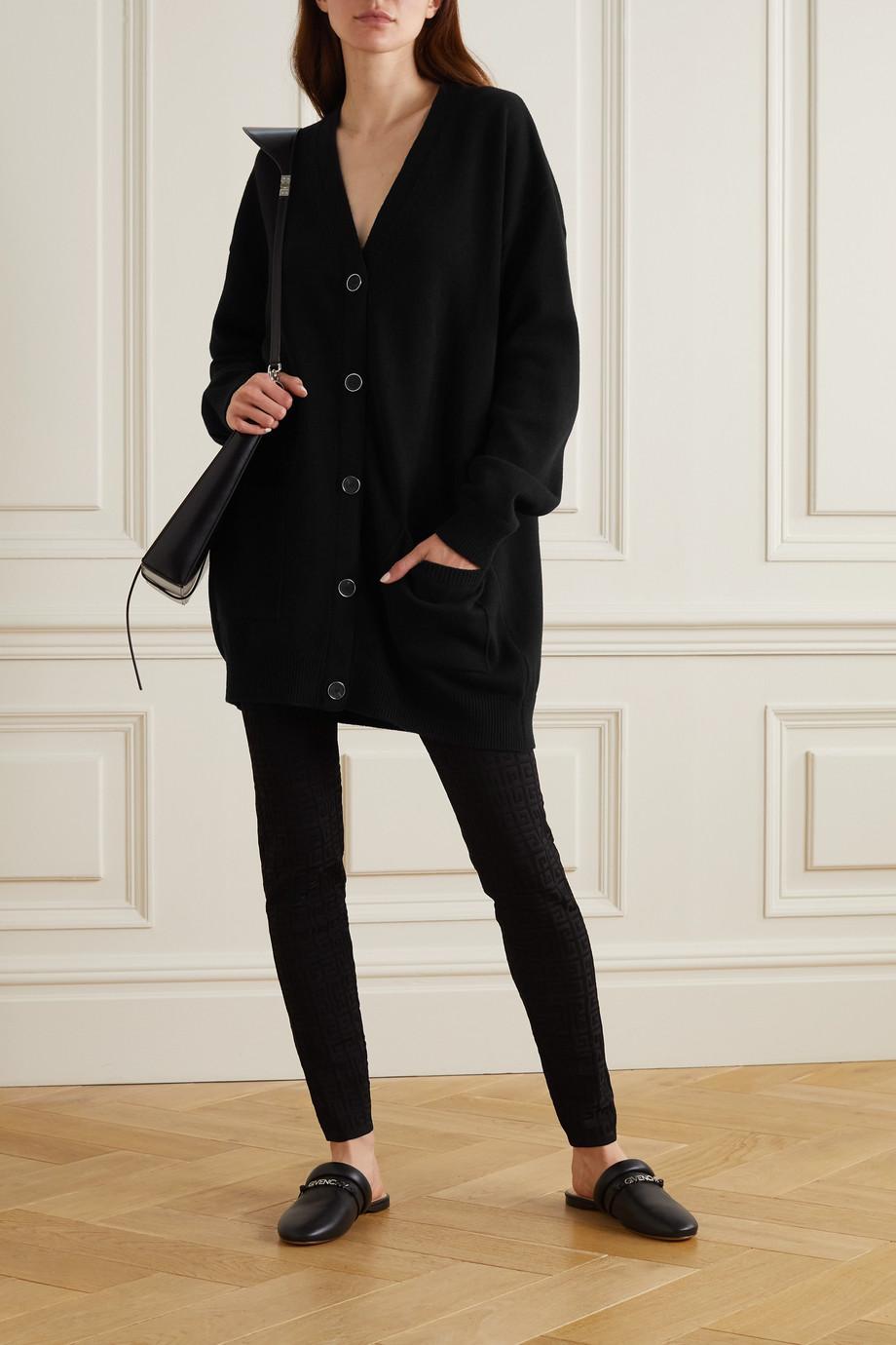 Givenchy Cardigan en laine et cachemire mélangés à ornements