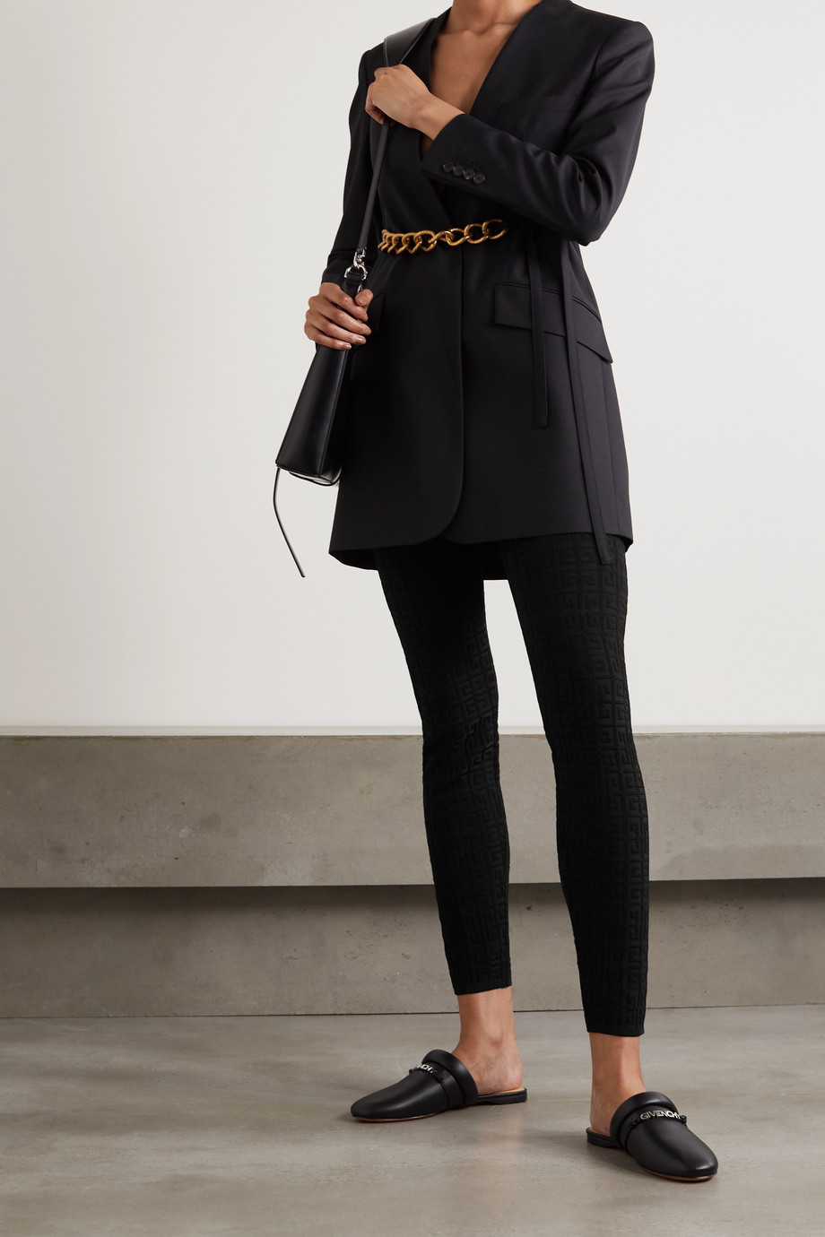 Givenchy Legging à mailles jacquard