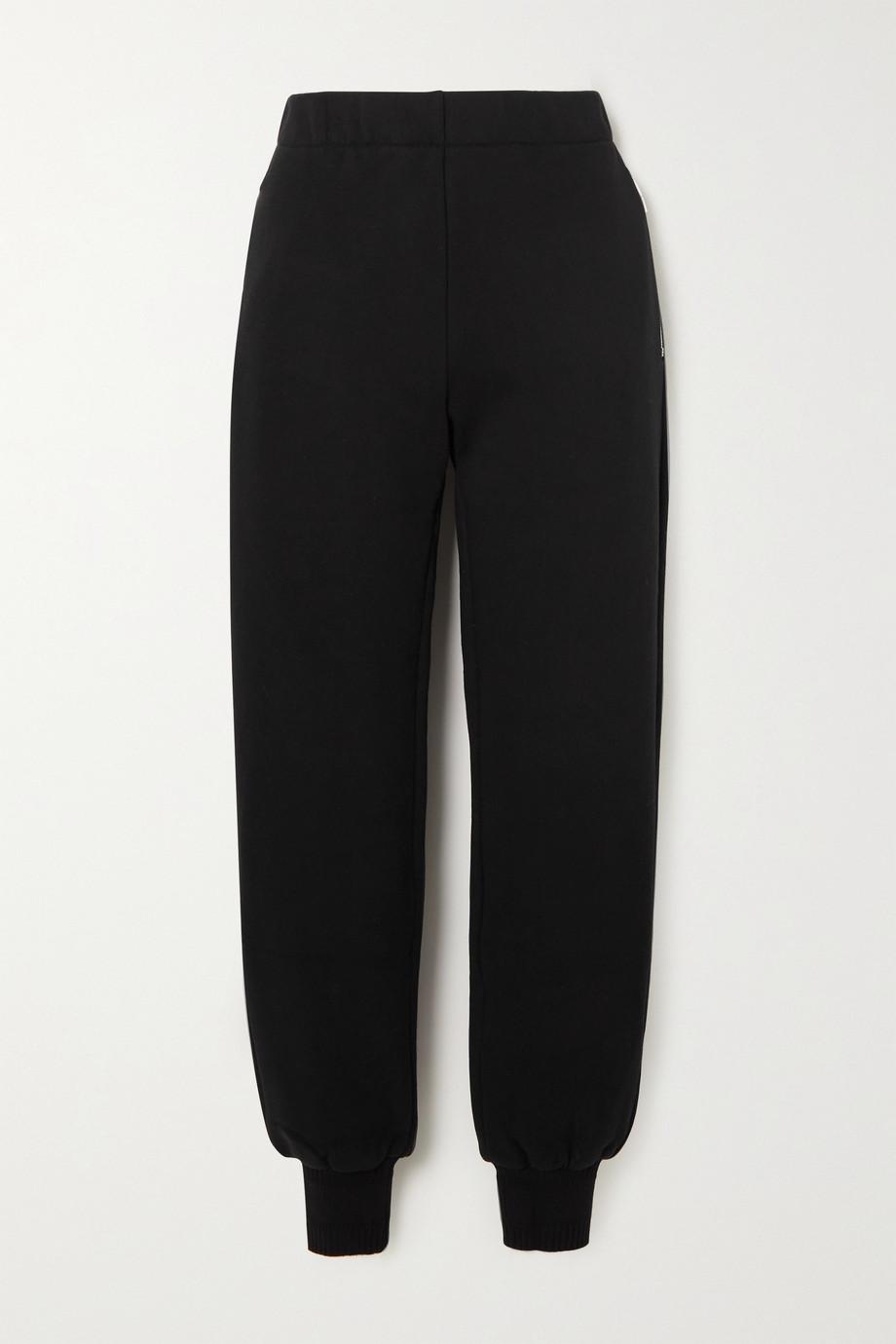 Givenchy Pantalon de survêtement en jersey de coton brossé