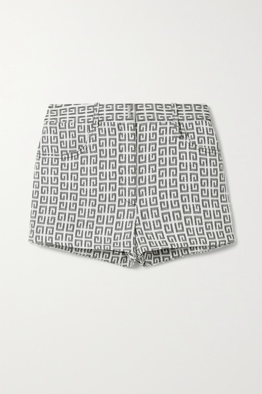 Givenchy Short en jacquard