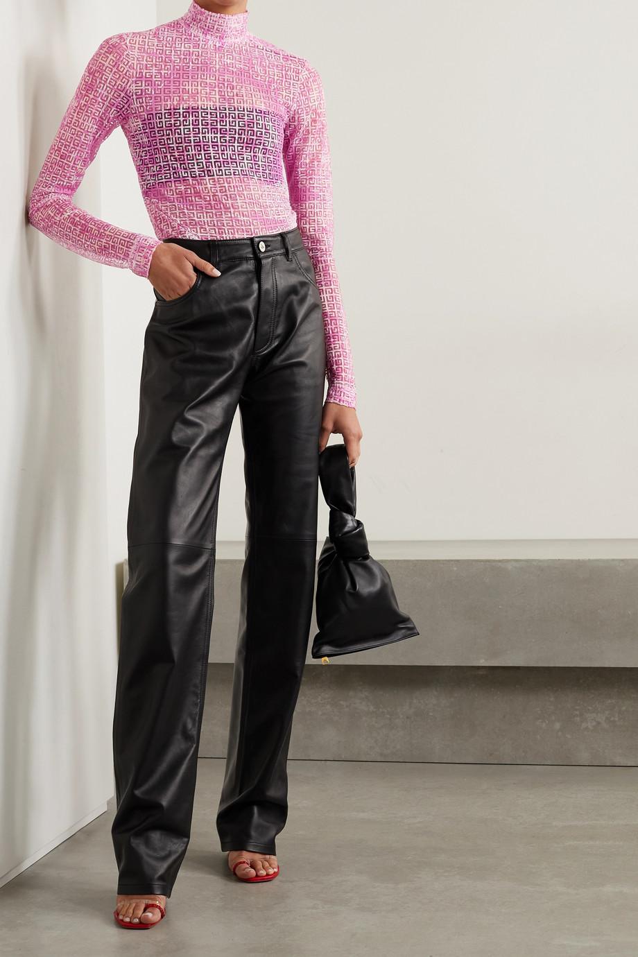 Givenchy Haut en Lyocell mélangé dévoré imprimé