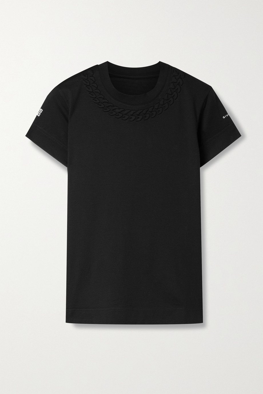 Givenchy T-shirt en jersey de coton gaufré
