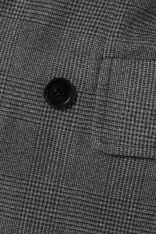 Balenciaga Manteau à double boutonnage en laine à carreaux prince-de-galles Hourglass