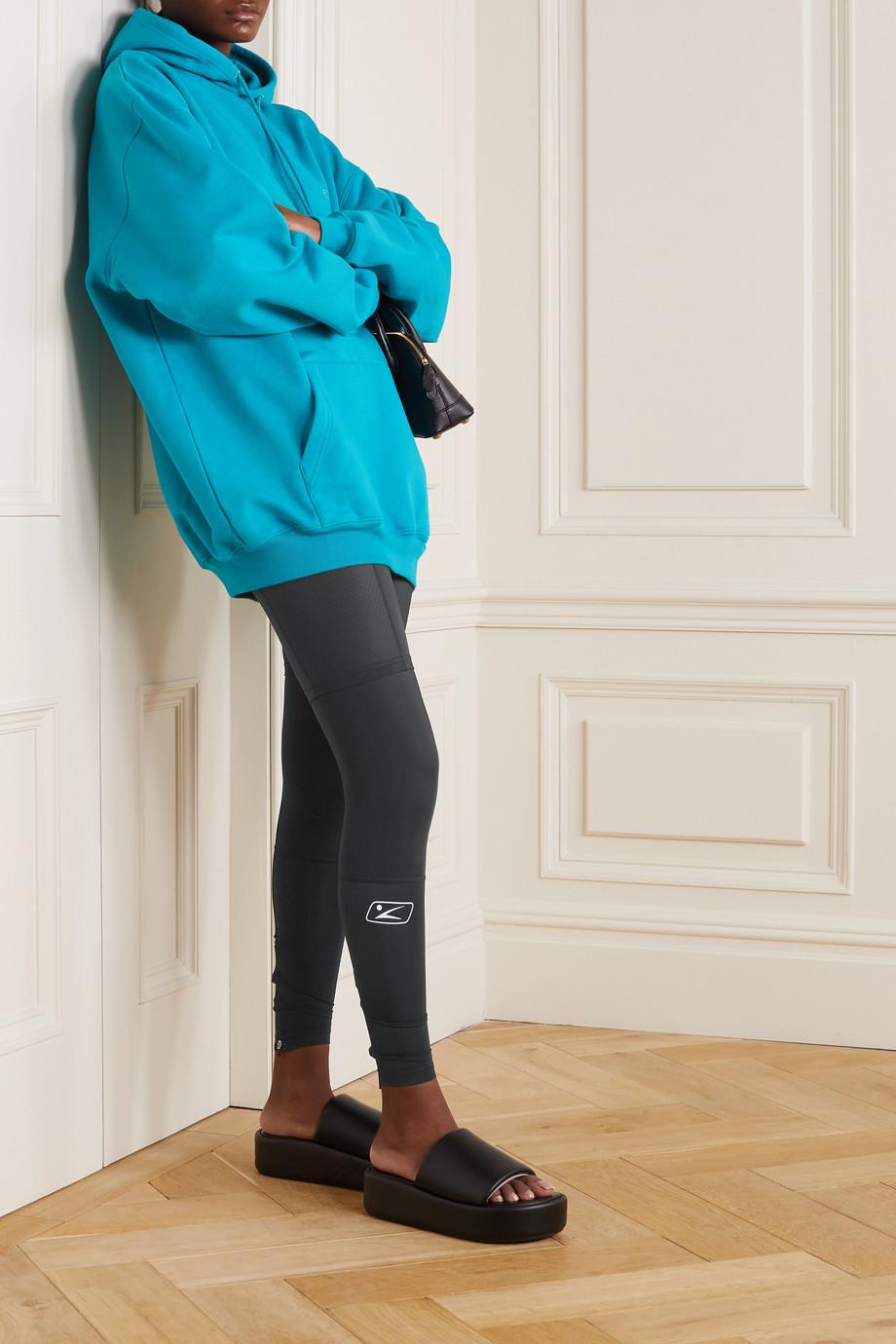Balenciaga Legging en jersey stretch imprimé Trompe-L'œil
