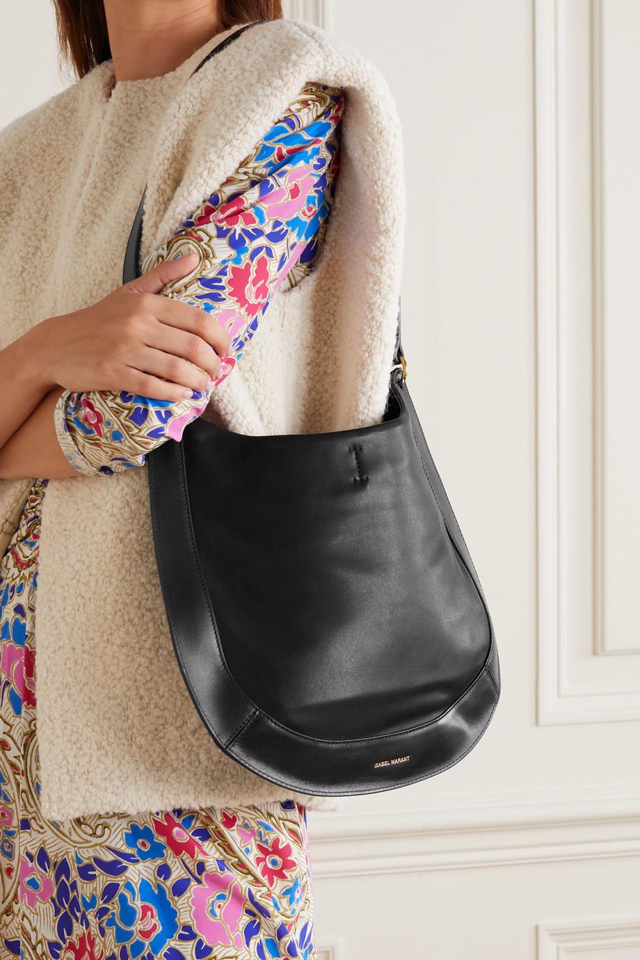 Isabel Marant Moskan leather shoulder bag