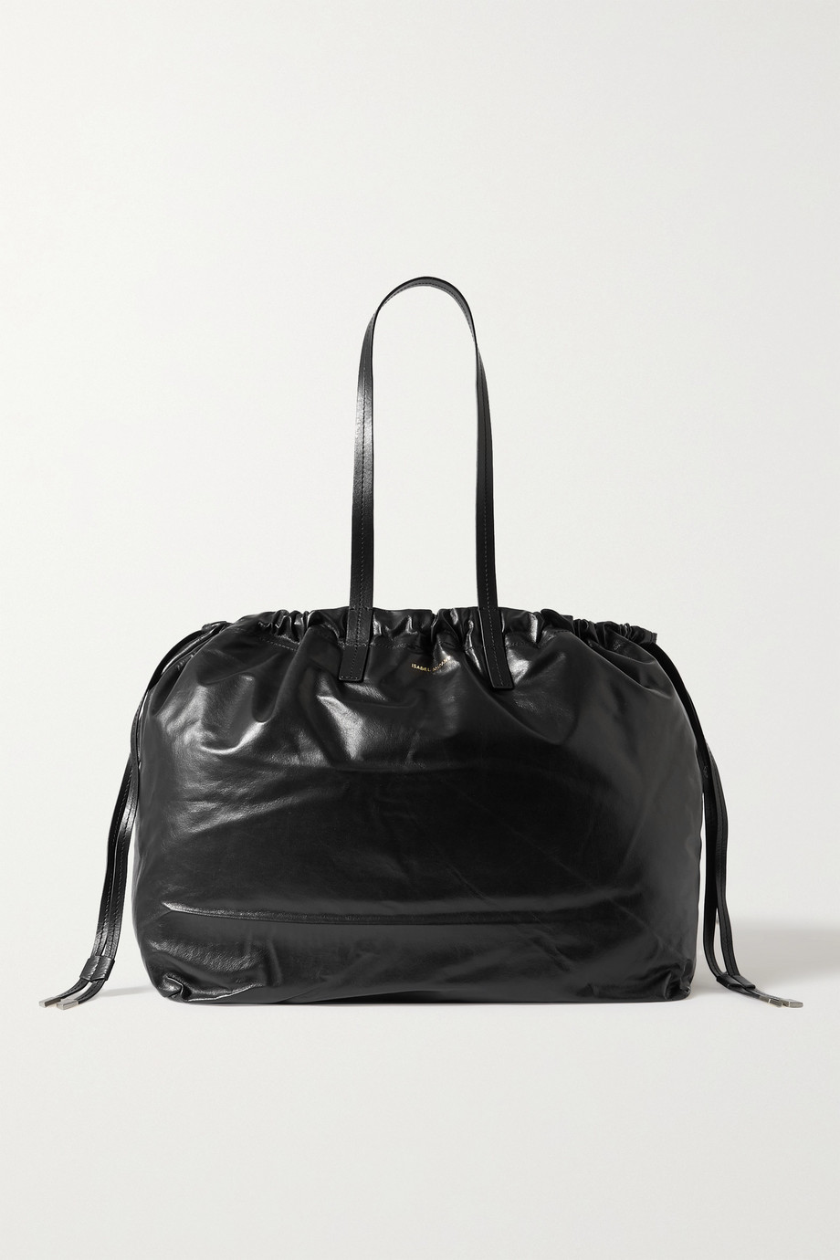 Isabel Marant Chagaar crinkled-leather tote