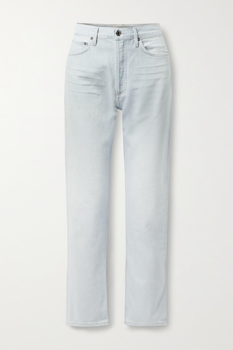 AGOLDE + NET SUSTAIN '90s Pinch Waist high-rise straight-leg jeans