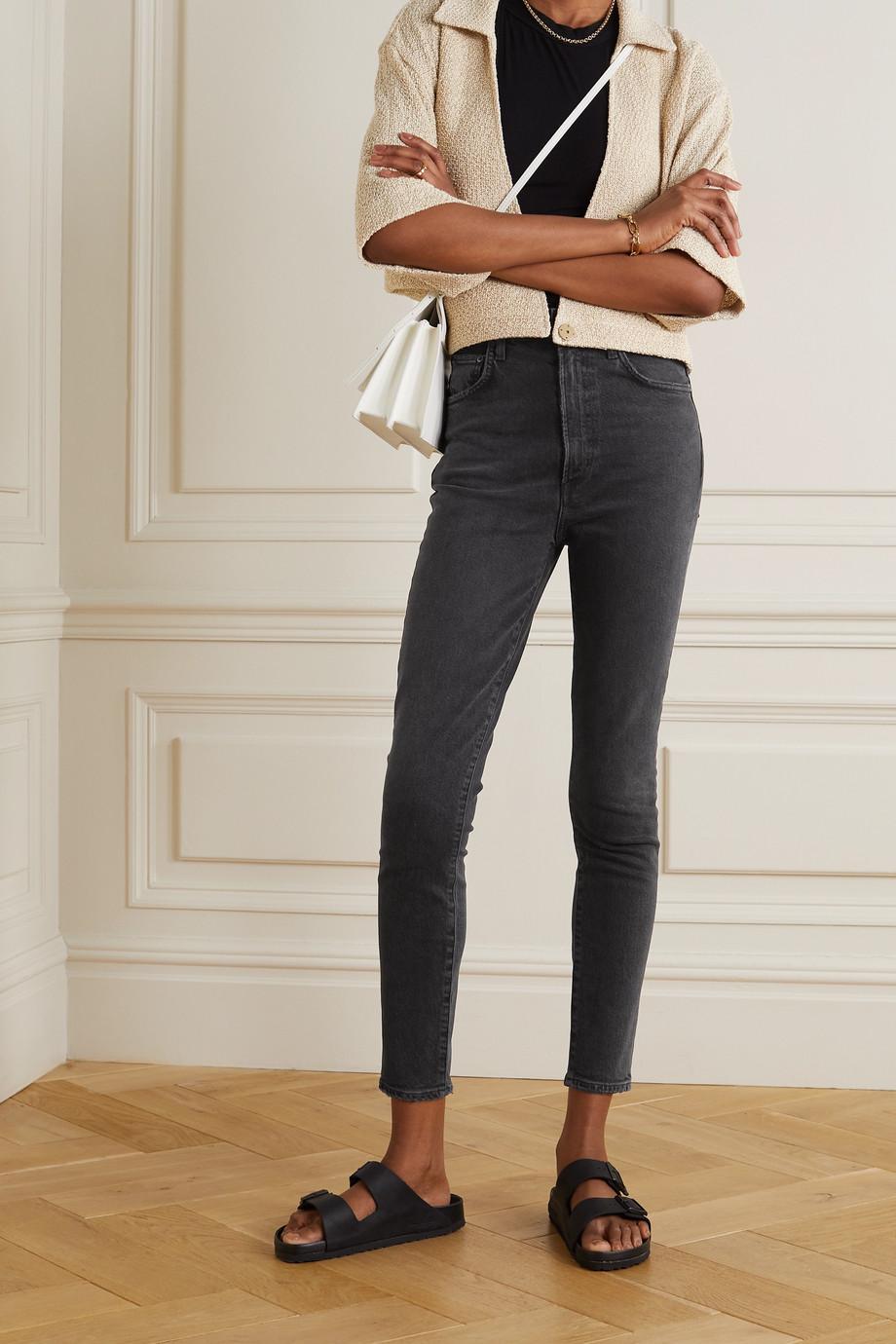 AGOLDE Pinch Waist hoch sitzende Skinny Jeans