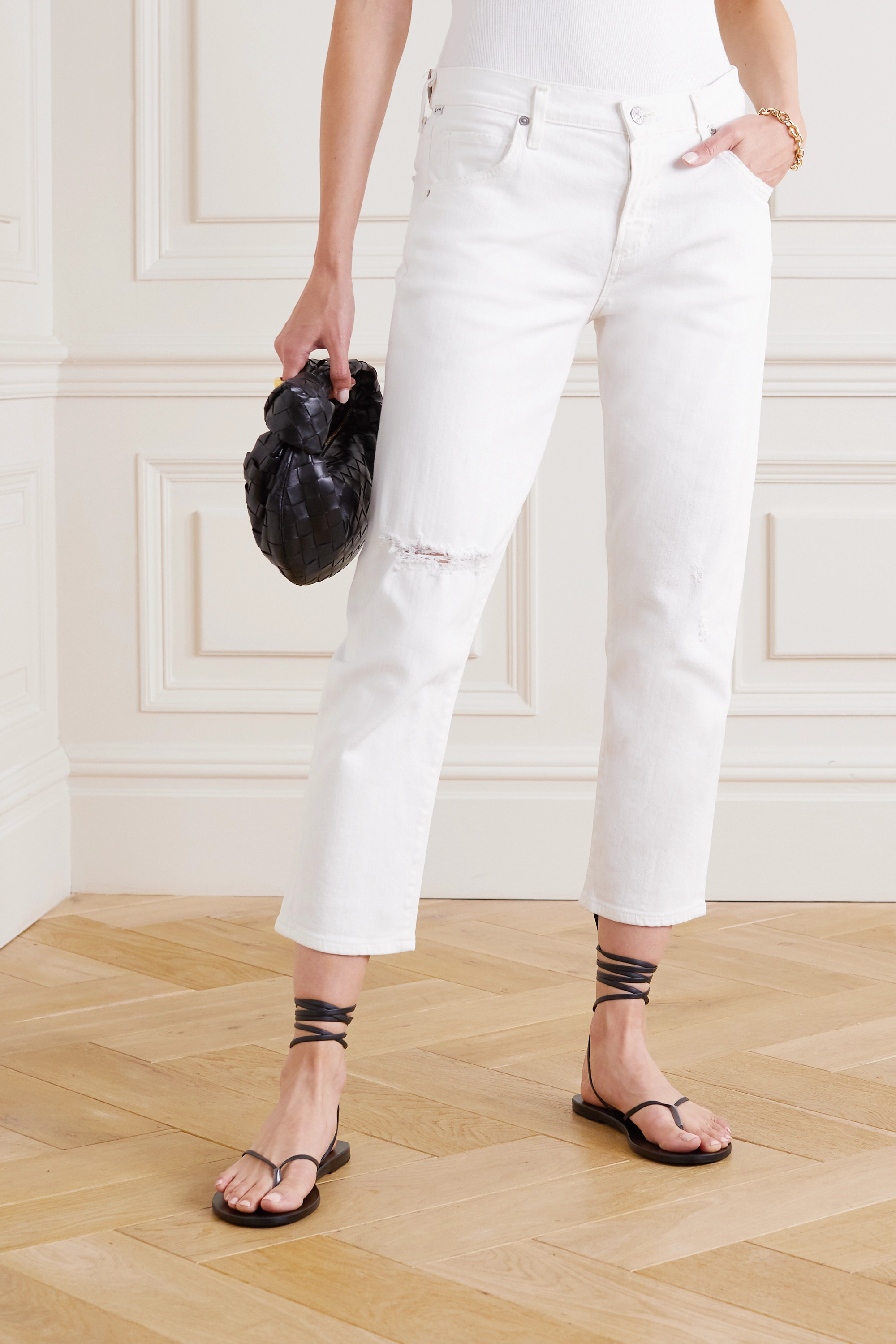 Citizens of Humanity Emerson distressed high-rise boyfriend jeans