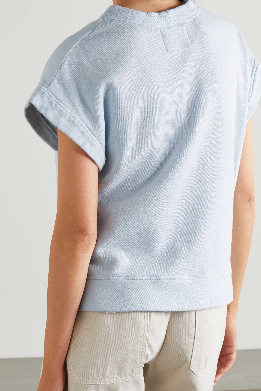 Citizens of Humanity Monique cotton-fleece T-shirt