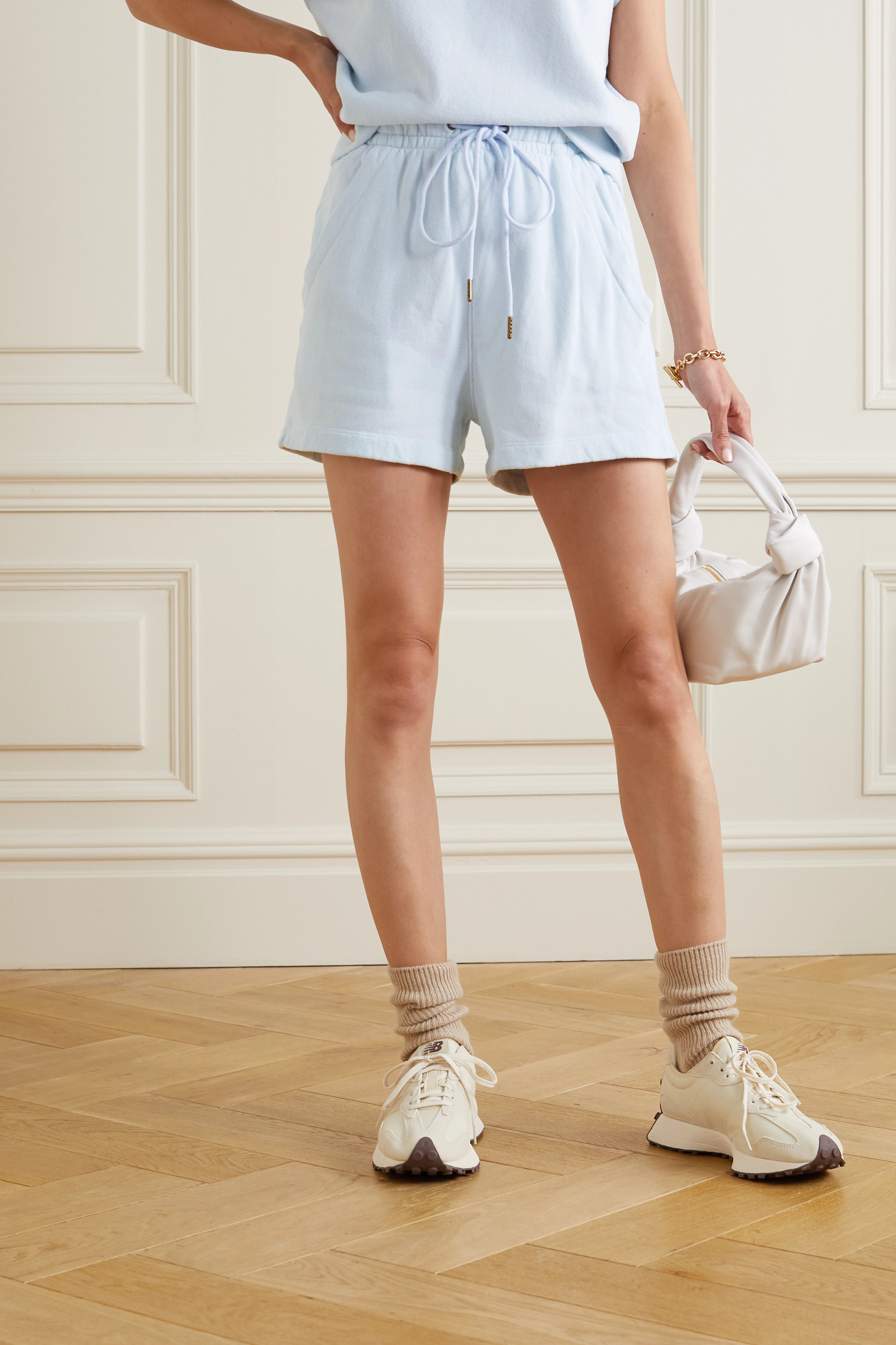 Citizens of Humanity Olympia cotton-fleece shorts