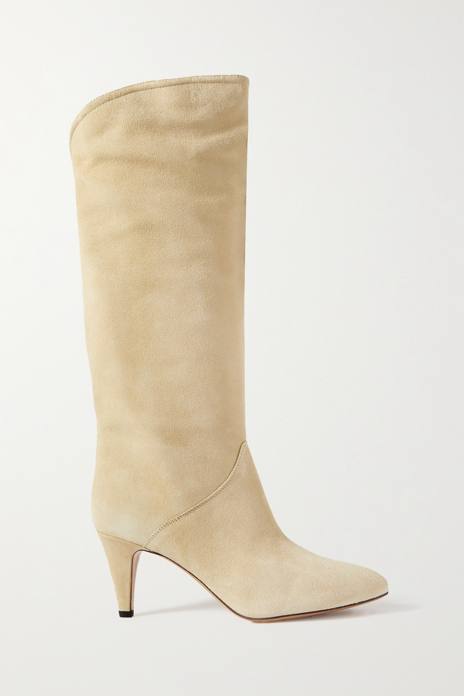 Isabel Marant Laylis 75 suede knee boots