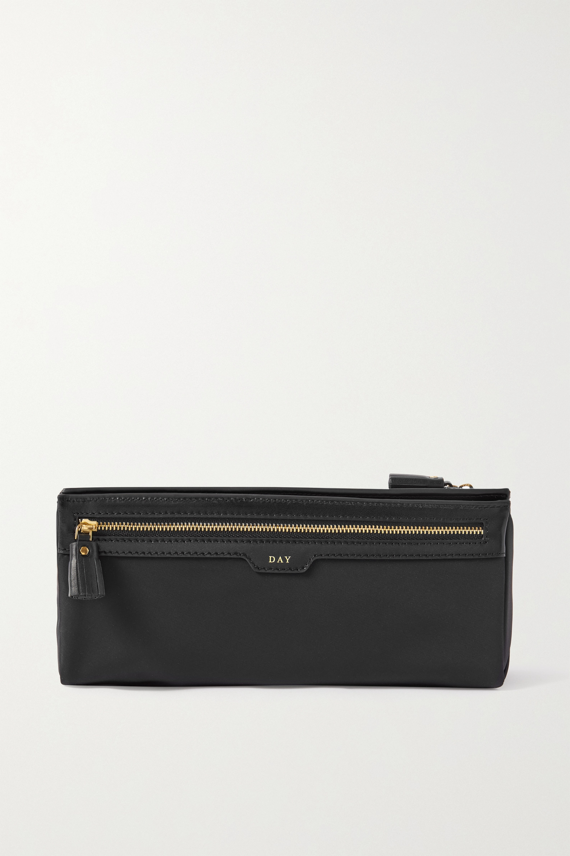 Anya Hindmarch + NET SUSTAIN Night and Day recycled shell, PVC and leather cosmetics case