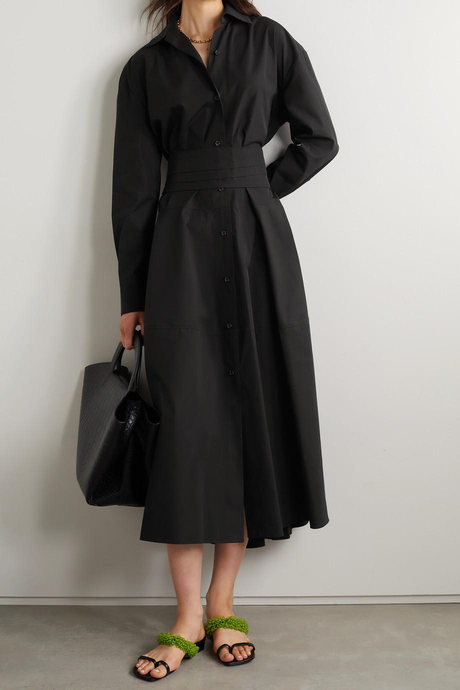 Marni Cotton-poplin midi shirt dress