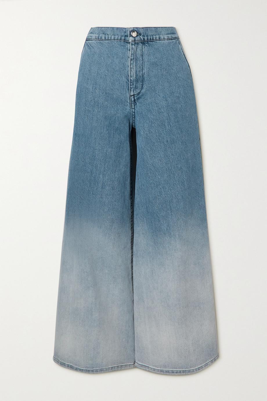 Marni Jean large taille haute ombré