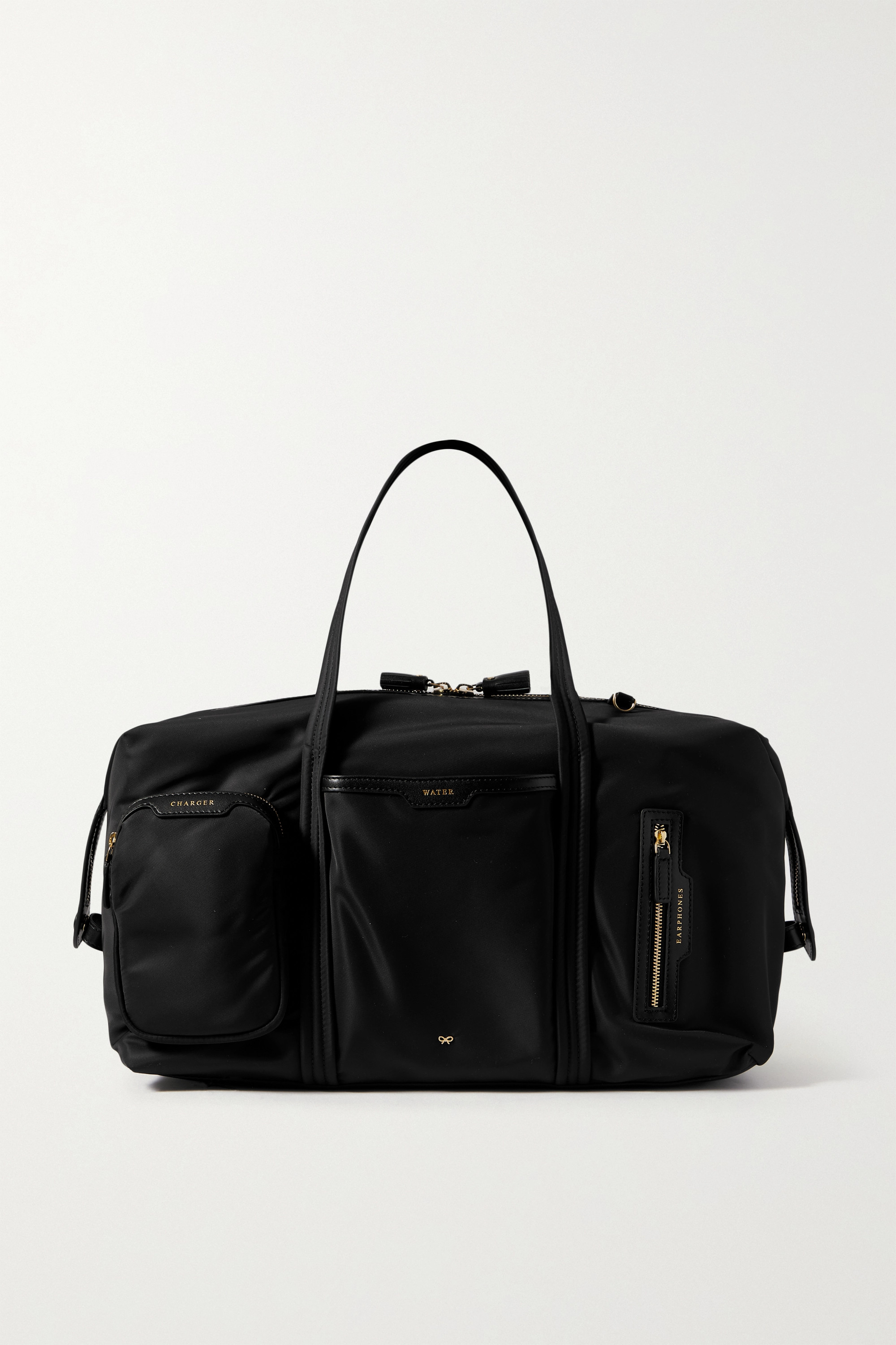 Anya Hindmarch - Inflight leather-trimmed recycled shell weekend bag