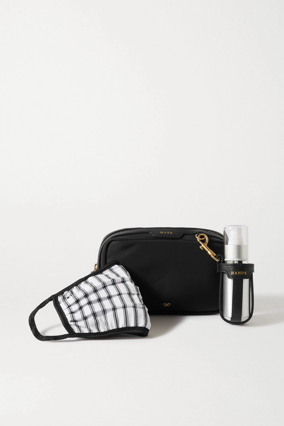 Anya Hindmarch + NET SUSTAIN leather-trimmed ECONYL PPE Kit
